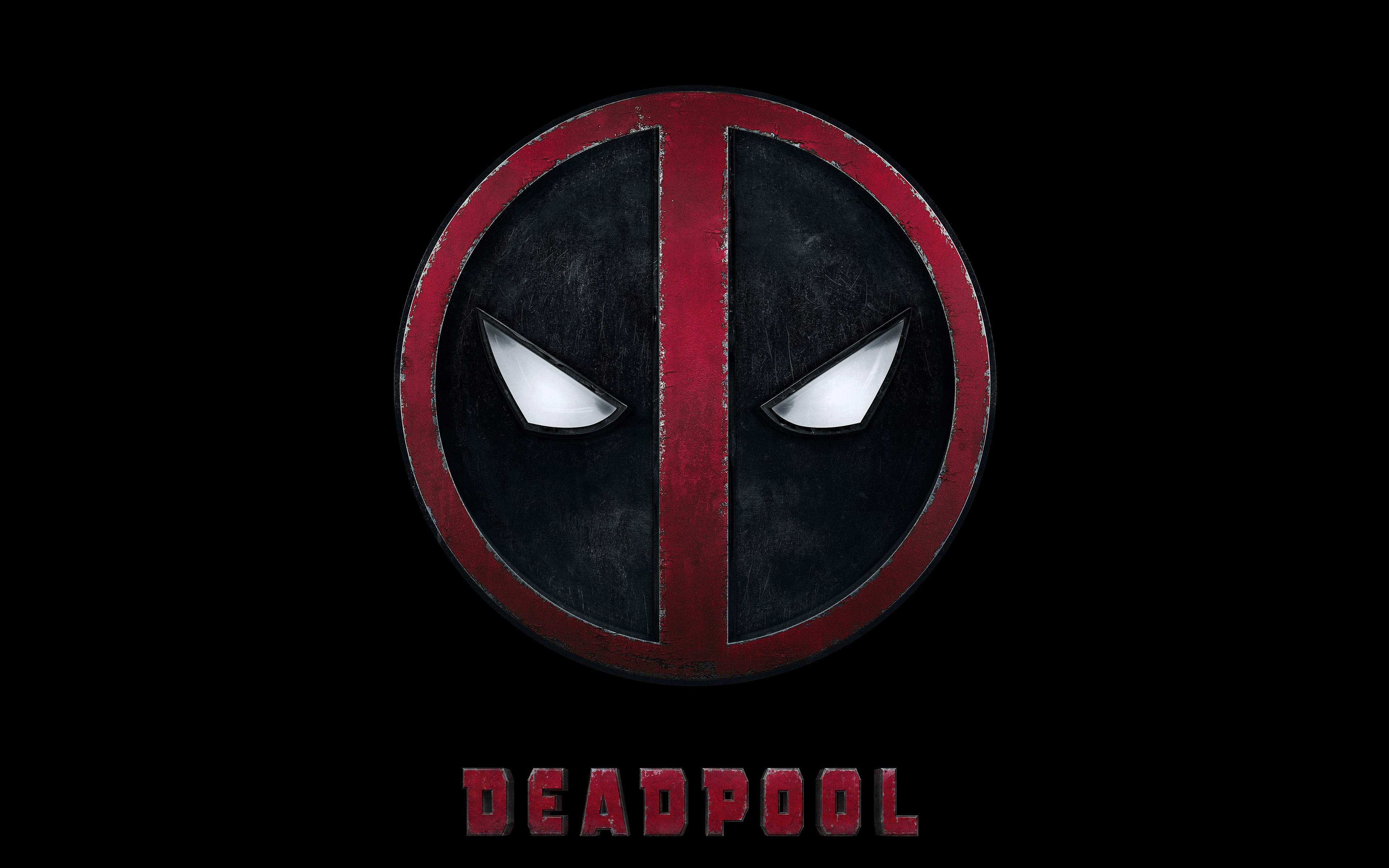 1280x800 Fall Wallpaper Ap49 Deadpool Logo Dark Art Hero Wallpaper