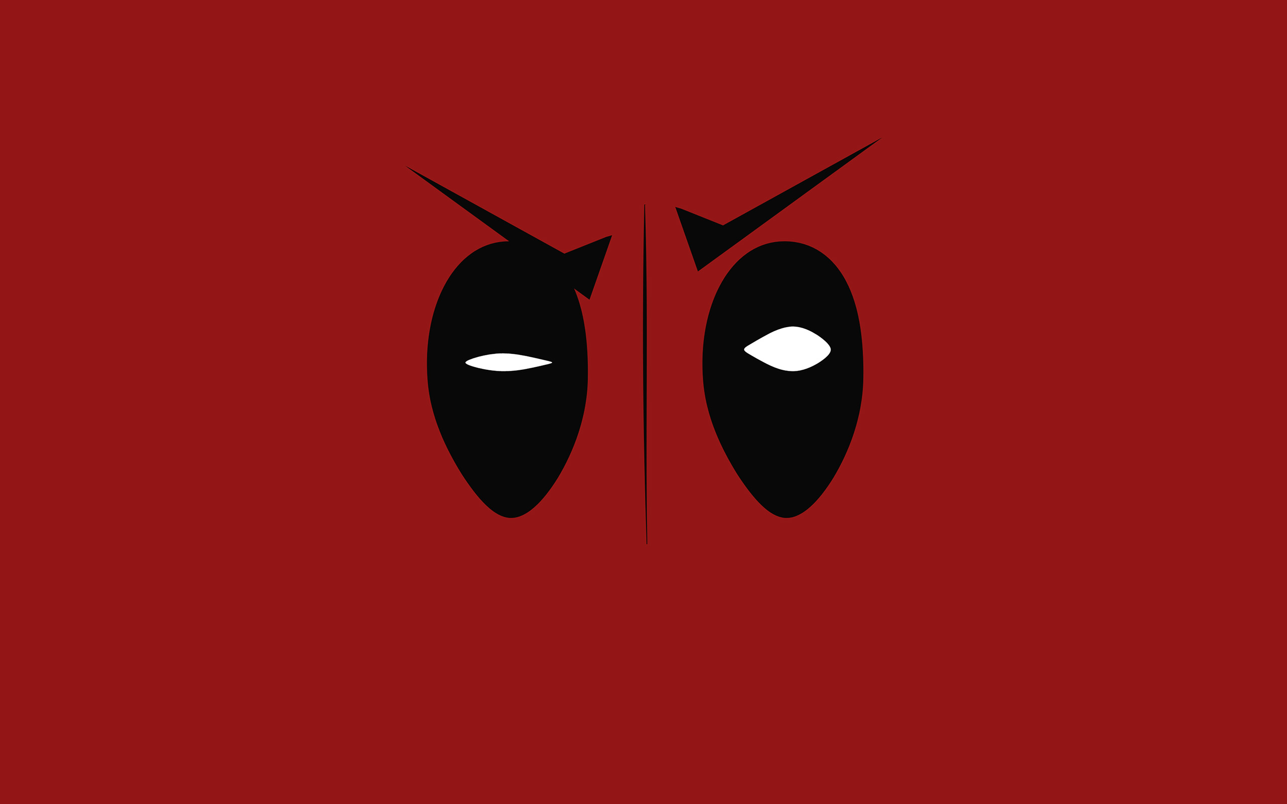 Sick Iphone 4 Wallpapers Ap59 Deadpool Hero Eye Logo Art Film Wallpaper