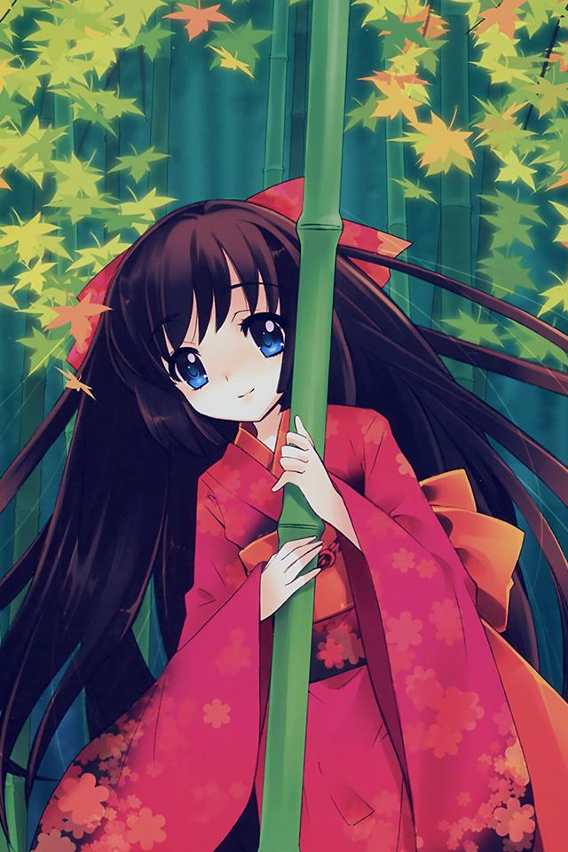 Simple Wallpaper Girl Hd Aq47 Anime Girl Japan Art Cute Illustraion Wallpaper