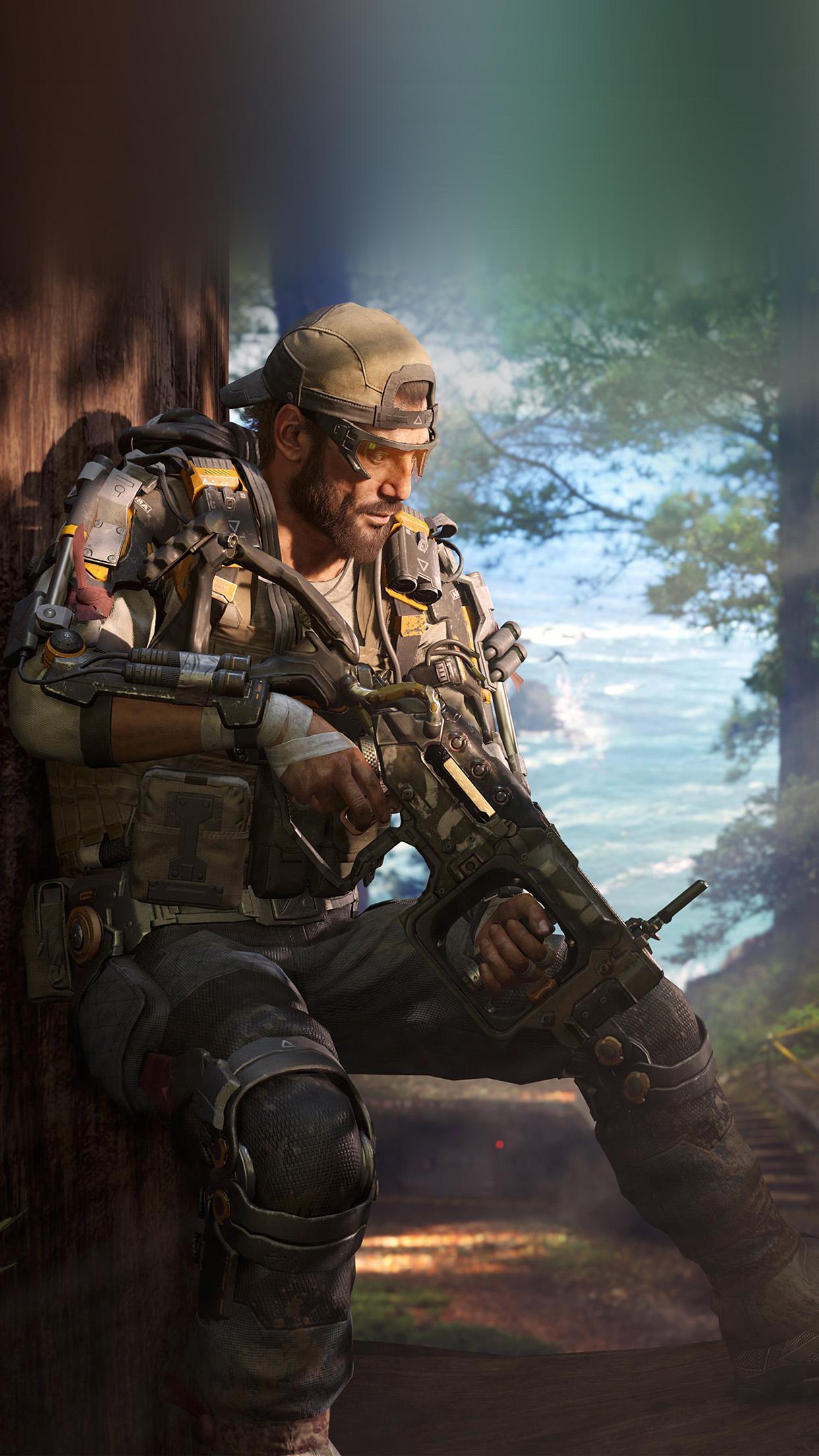 Air Anime Wallpaper Ar05 Call Of Duty Blackops Game Illustration Art Wallpaper