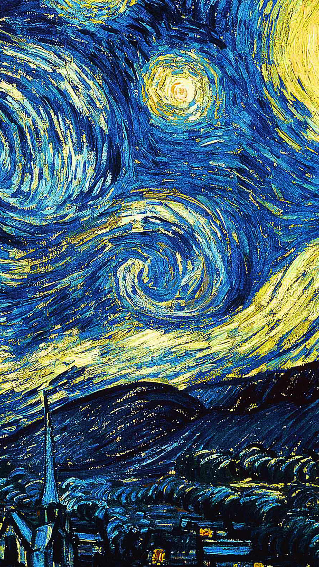 Van Gogh Starry Night Iphone Wallpaper Papers Co Iphone Wallpaper Ar55 Vicent Van Gogh Starry