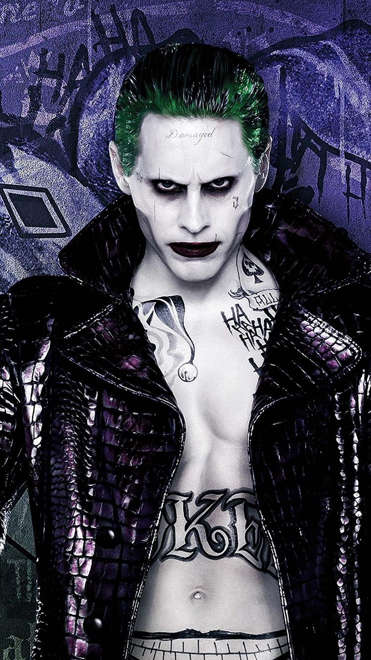 Harley Quinn Wallpaper Iphone As44 Suicide Squad Jared Leto Art Illustration Joker Wallpaper