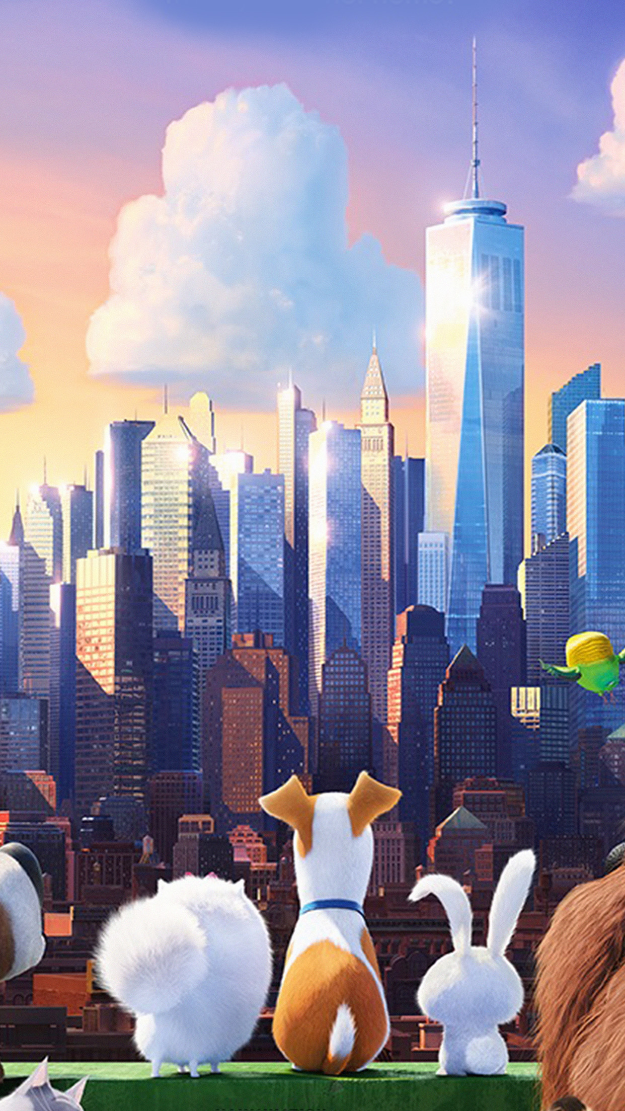 Animation Wallpaper Android As60 Secret Life Of Pets Animation Art Illustration Wallpaper