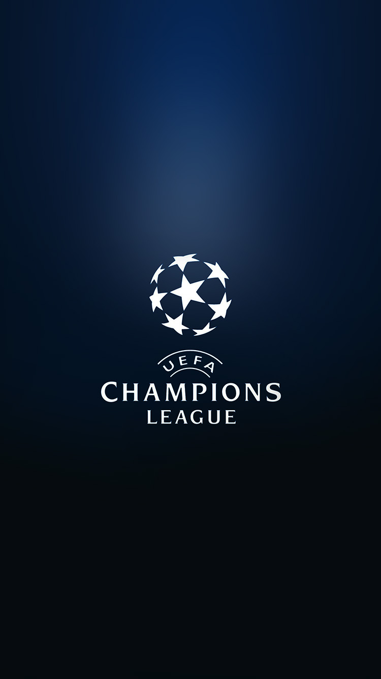 Soccer Iphone X Wallpaper At88 Champions League Europe Logo Soccer Art Illustration