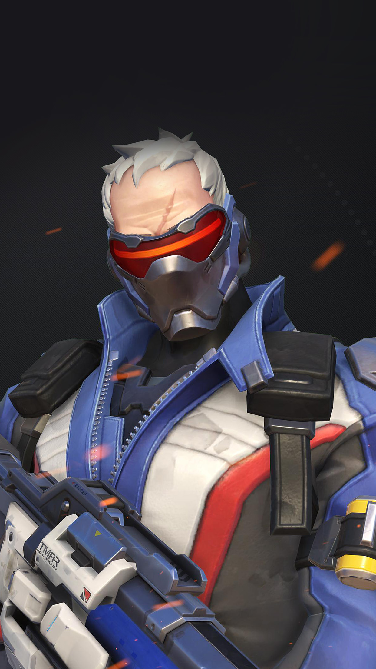 Fall Wallpaper Cute Papers Co Iphone Wallpaper Au09 Overwatch Soldier 76