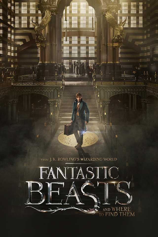 Galaxy Wallpaper Hd Iphone X Av07 Fantastic Beasts And Where To Find Them Film
