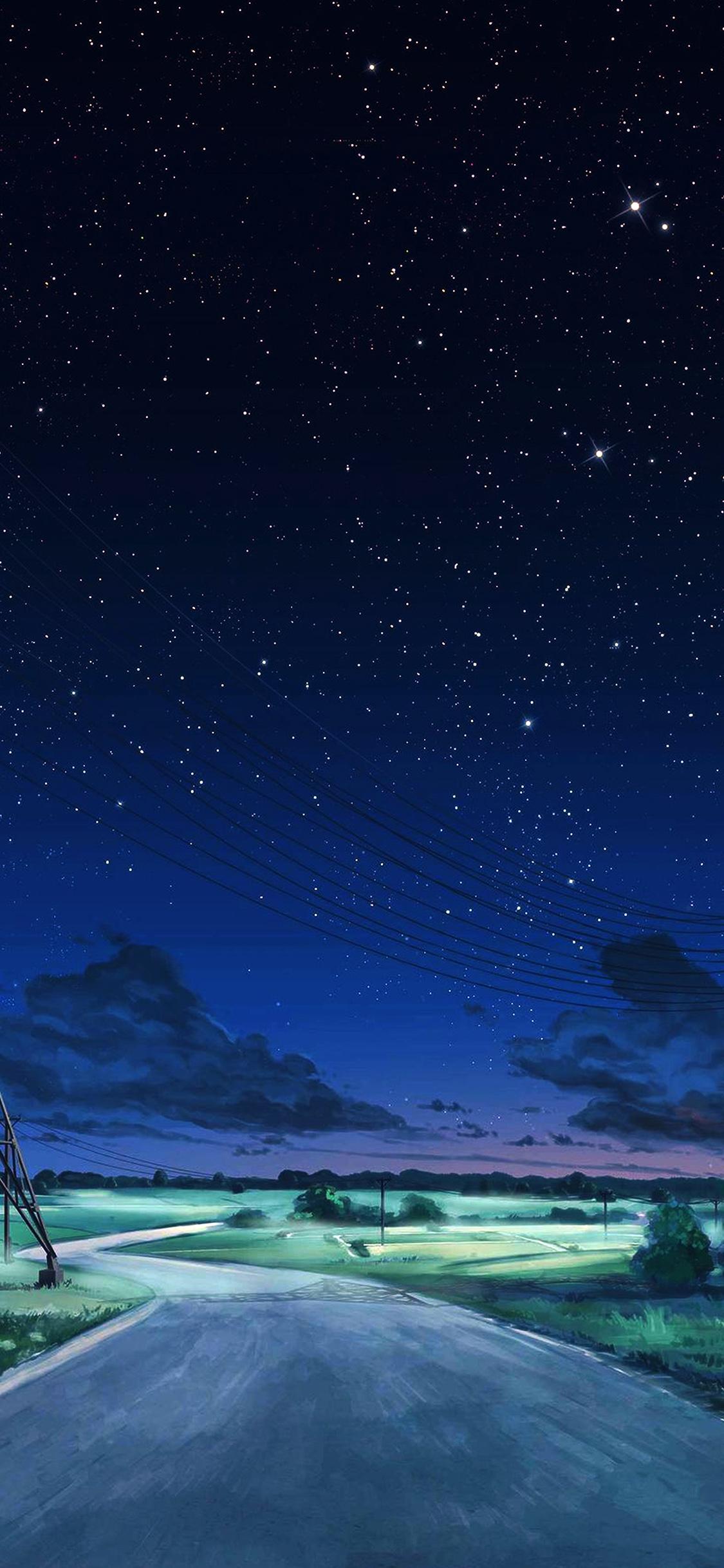 Hd Christmas Wallpapers 1080p Aw16 Arseniy Chebynkin Night Sky Star Blue Illustration