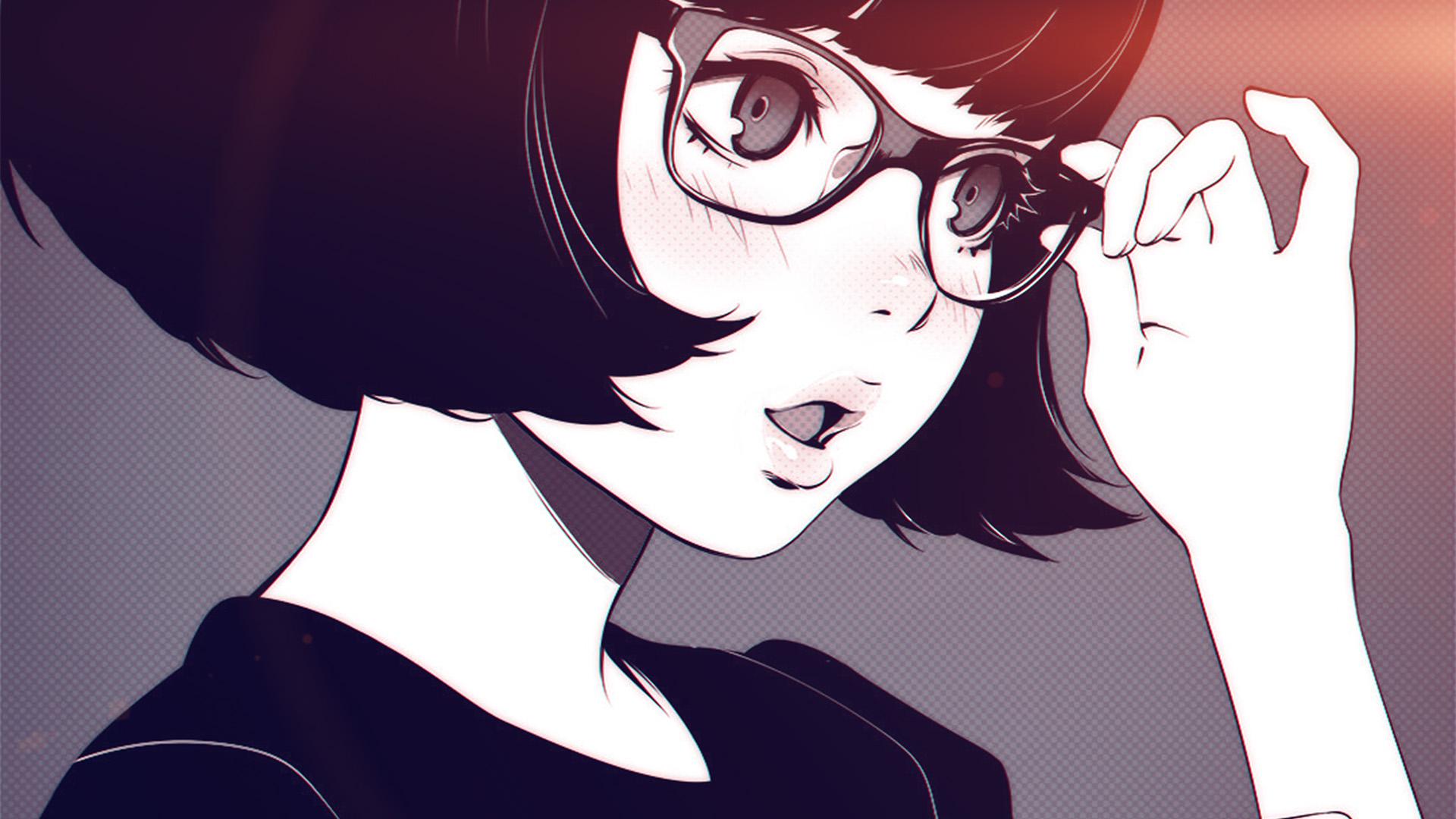 Best Wallpapers For Iphone 7 Aw23 Girl Bw Anime Ilya Kuvshinov Illustration Art Flare