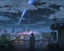 Wallpaper Desktop Laptop Aw28-yourname-night-anime