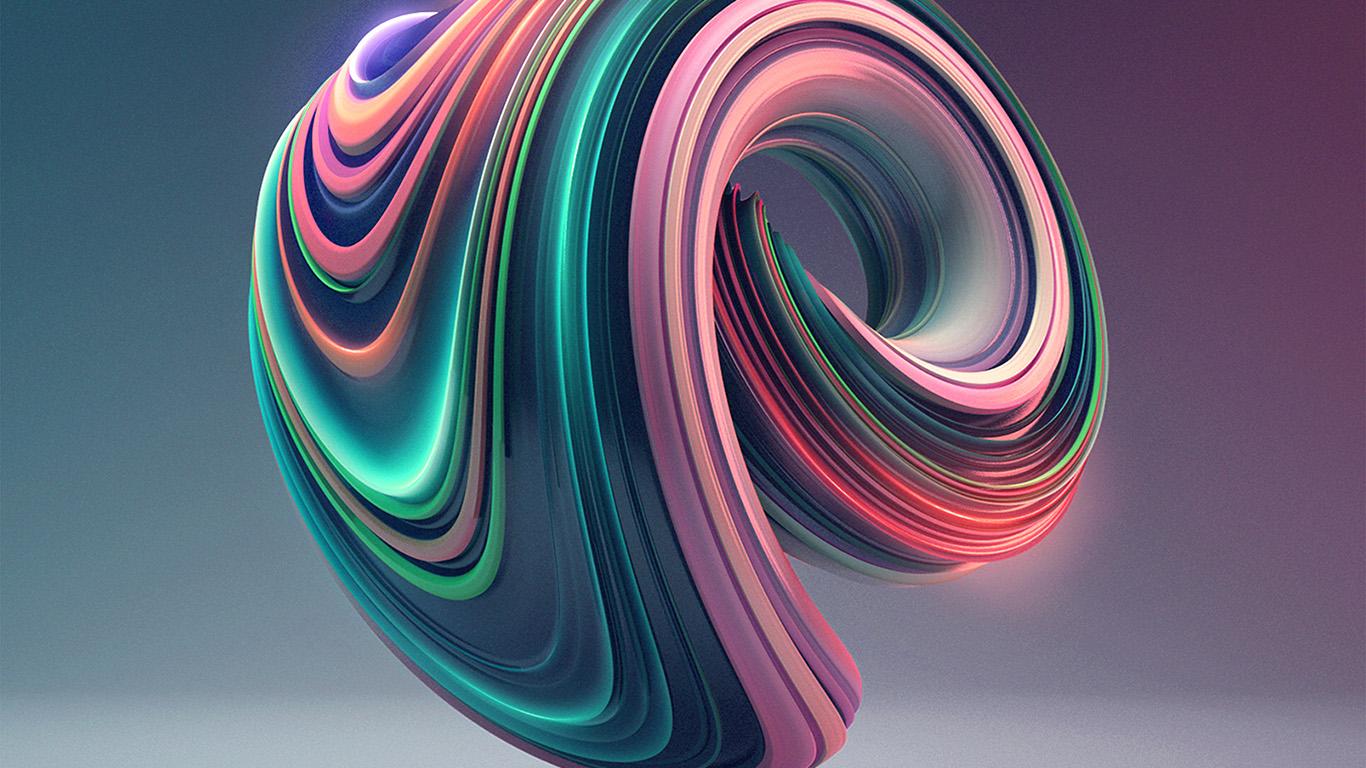 Cute Circle Wallpaper Bb02 Digital Art Color Circle Illustration Art 3d Green