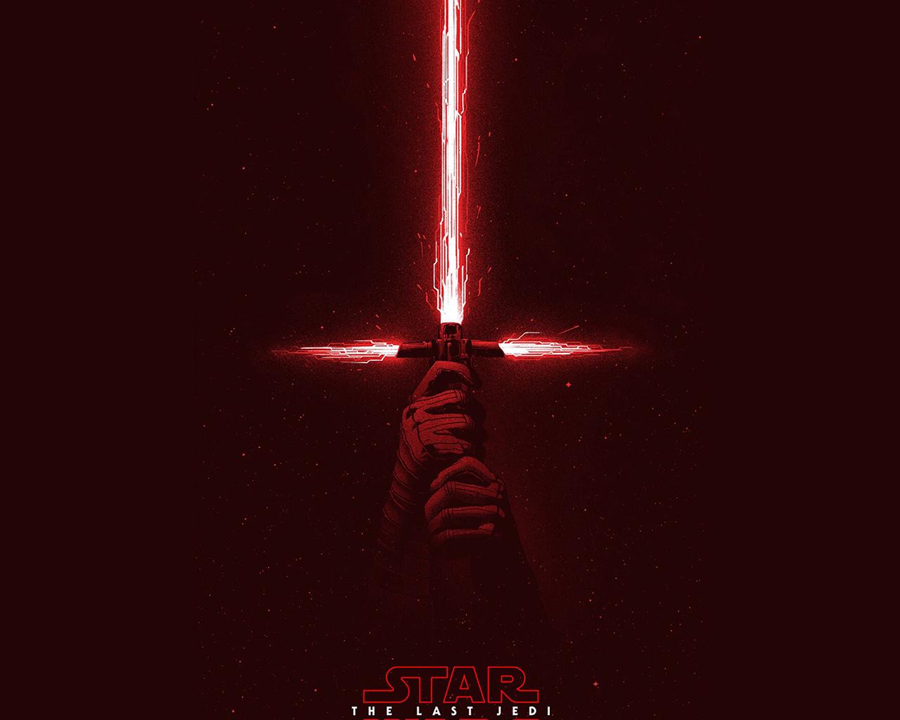 Fall Wallpaper Anime Bd05 Starwars First Jedi Red Film Art Illustration Wallpaper