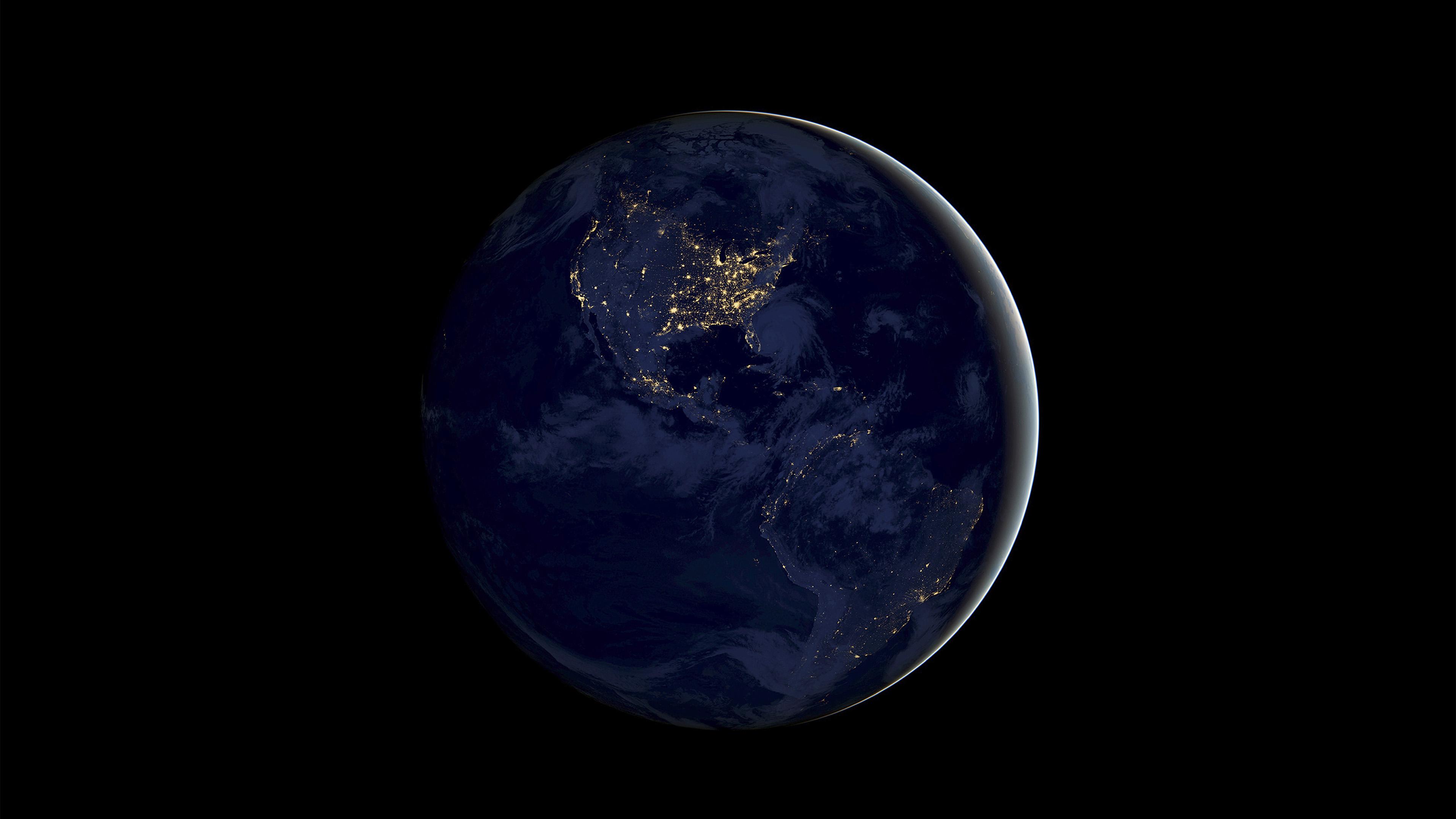 Fall Wallpaper For Macbook Pro Bd20 Earth Space Dark Night Art Illustration Wallpaper