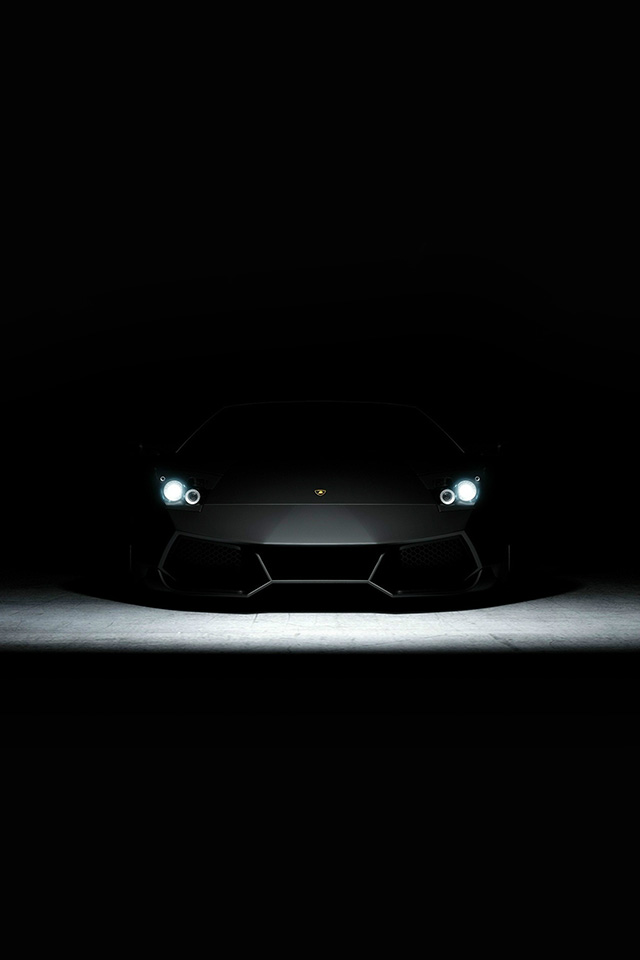 Hd Cute Wallpapers 1080p Bd23 Car Dark Lamborghini Art Illustration Wallpaper