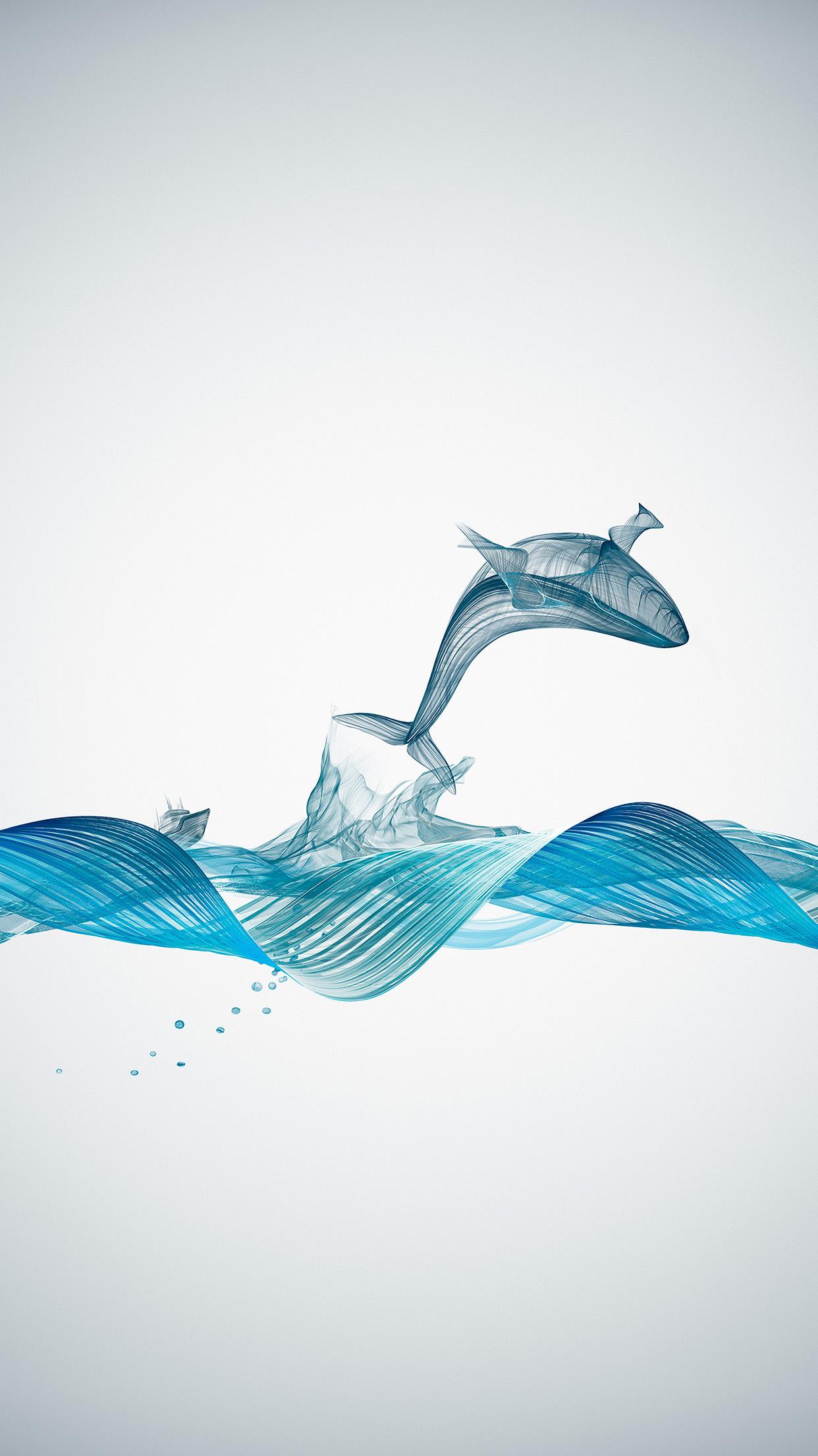 Animal Wallpaper Desktop Background Bd84 Fishing Boat Whale Wave Line Art Illustration Animal