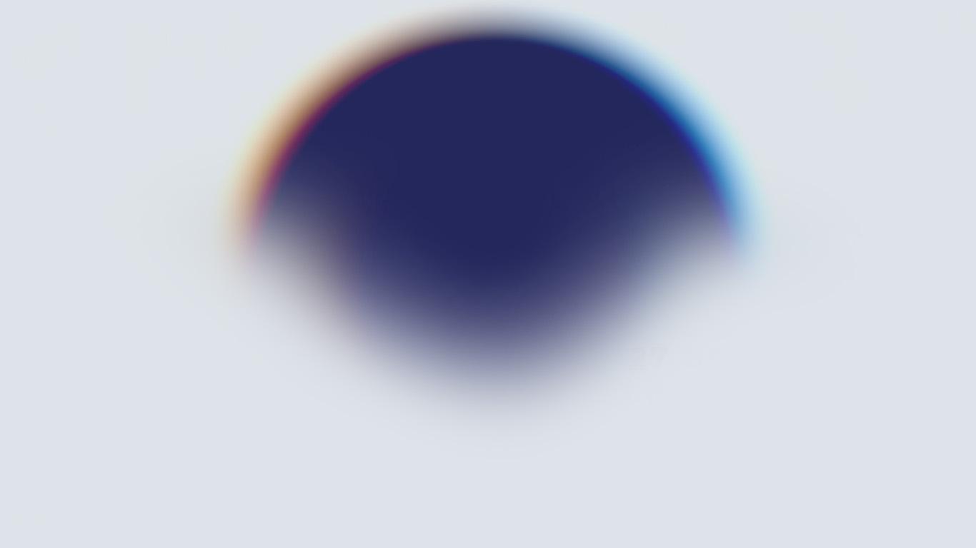 Cute Circle Wallpaper Be26 Minimal Circle Blur Art Illustration Wallpaper