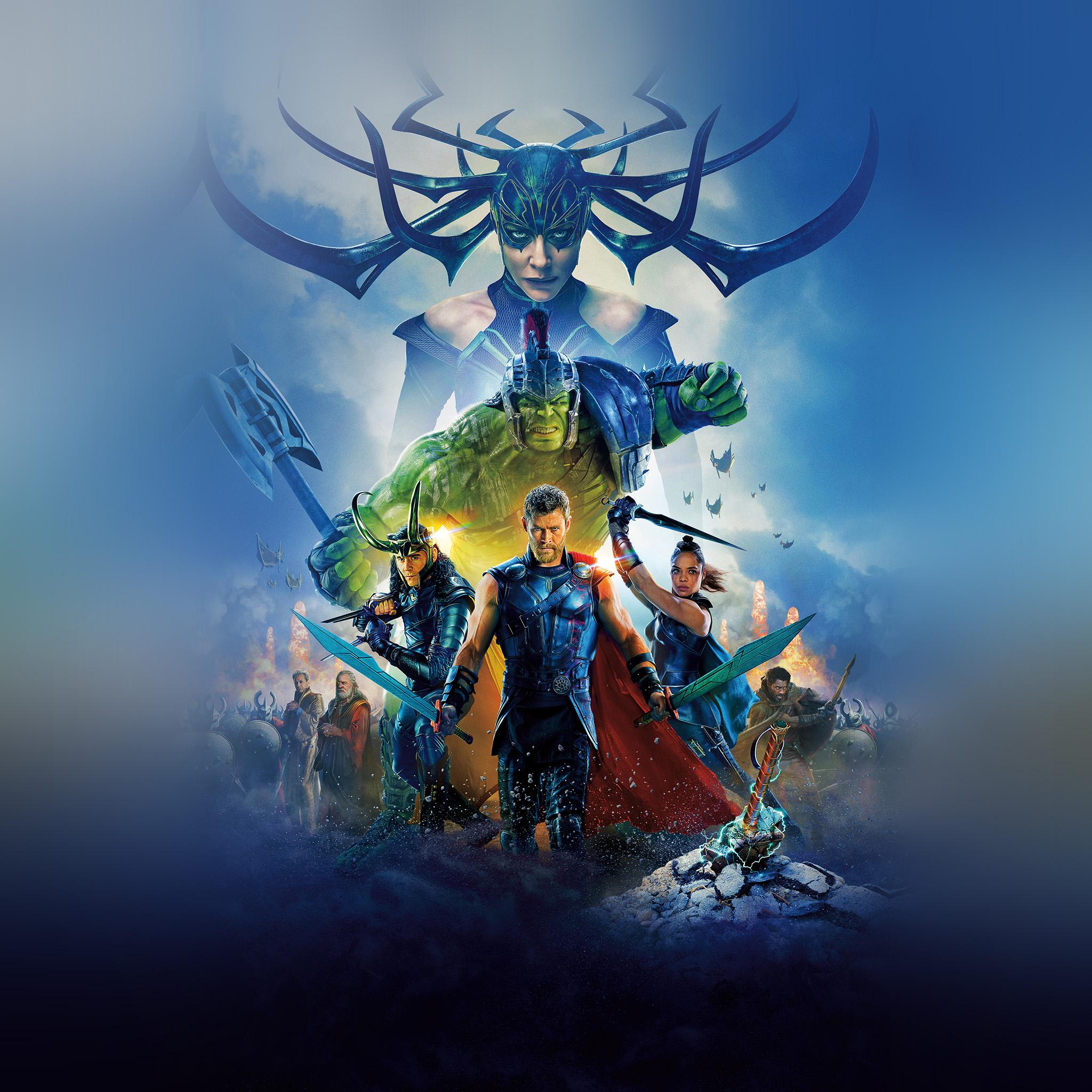 Hd Macbook Air Wallpapers Be50 Thor Ragnarok Film Marvel Art Illustration Wallpaper