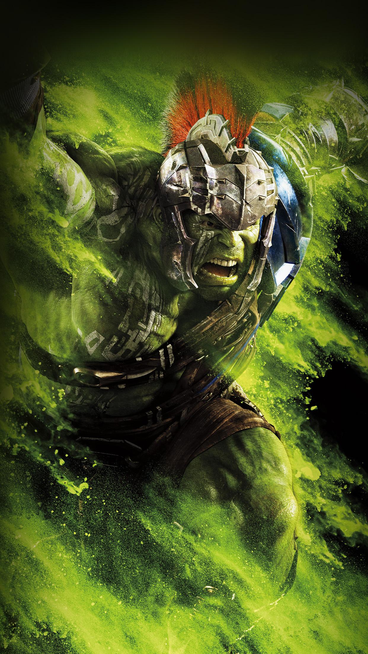 Car Wallpaper Hd  Be57 Hulk Ragnarok Red Film Marvel Hero Art Illustration