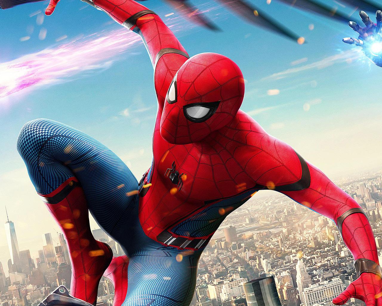 Rain Wallpaper Anime Be77 Spiderman Hero Marvel Avengers Art Illustration Wallpaper