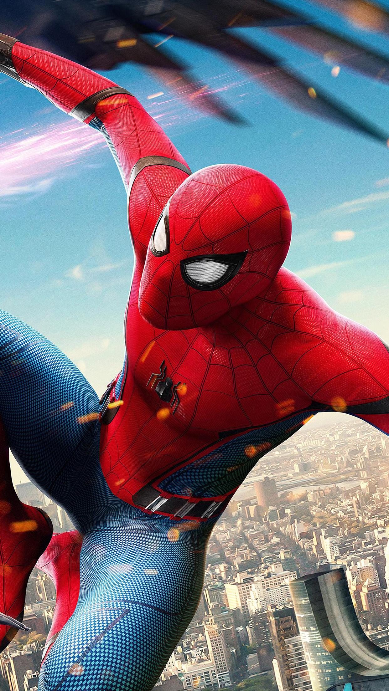 Car Wallpaper Be77 Spiderman Hero Marvel Avengers Art Illustration Wallpaper