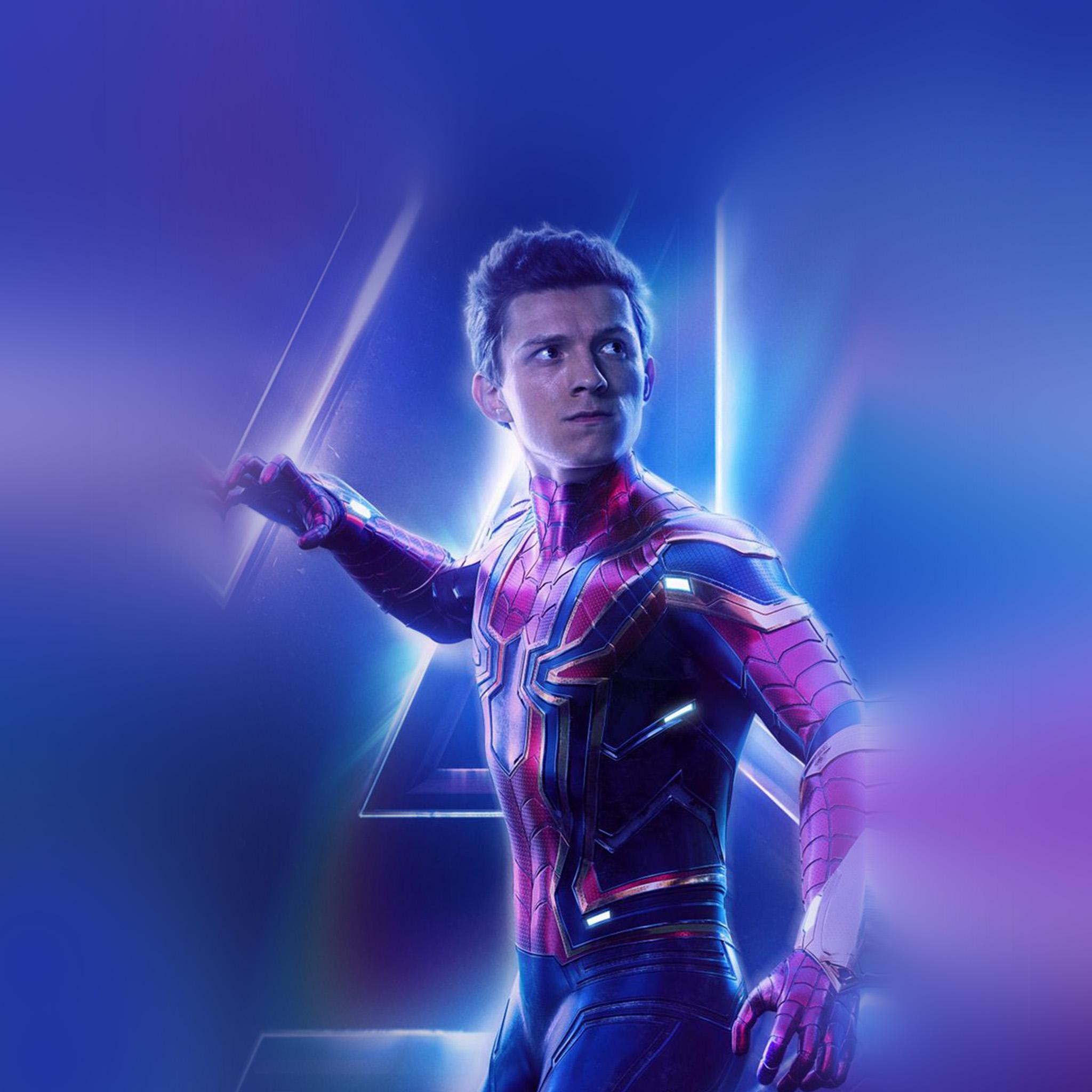 Spiderman Wallpaper Iphone X Be92 Spiderman Suit Avengers Infinitywar Marvel Hero Art