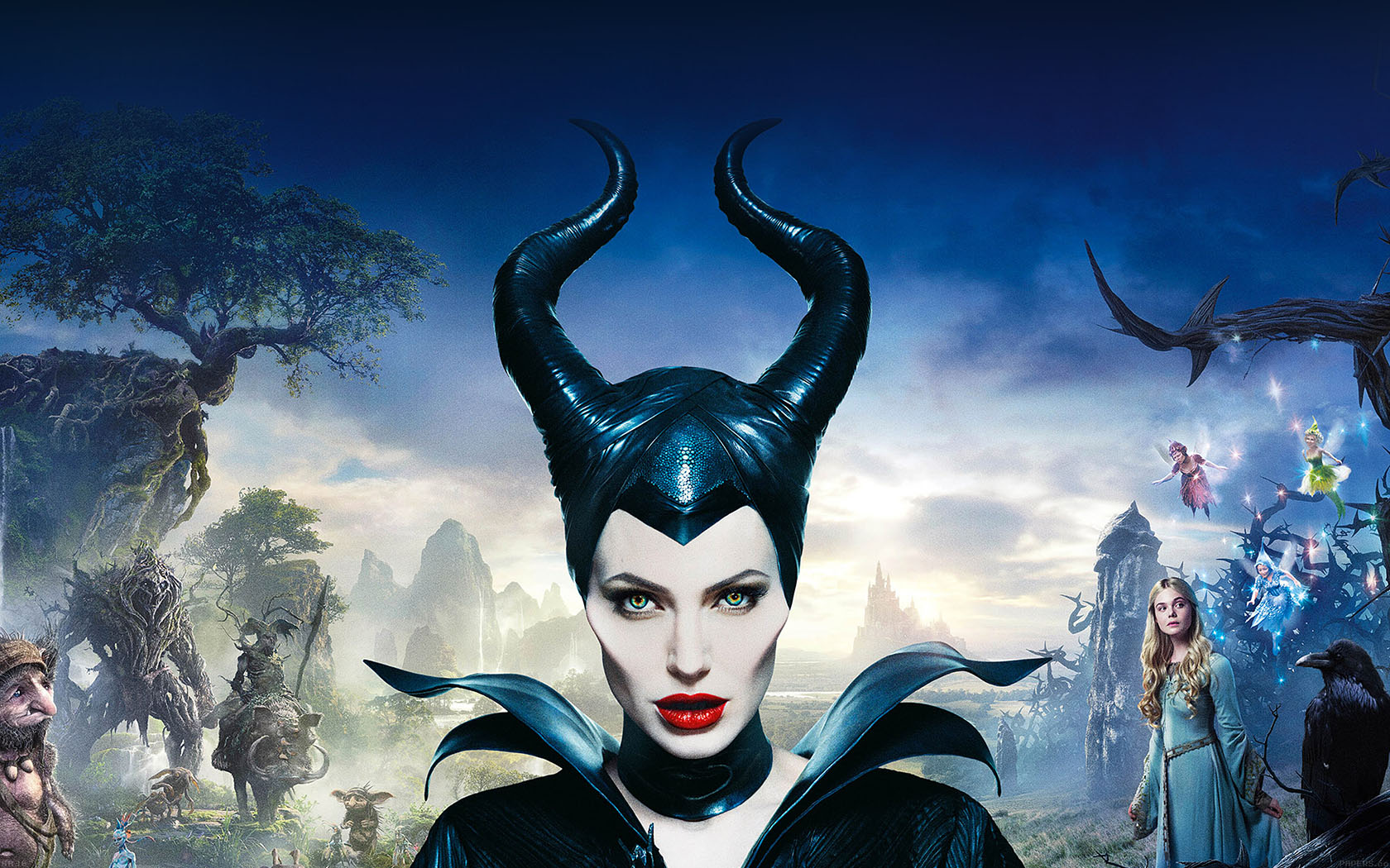 Fall Wallpaper Iphone Se Ha30 Angelina Jolie Maleficent Poster Disney Face Papers Co