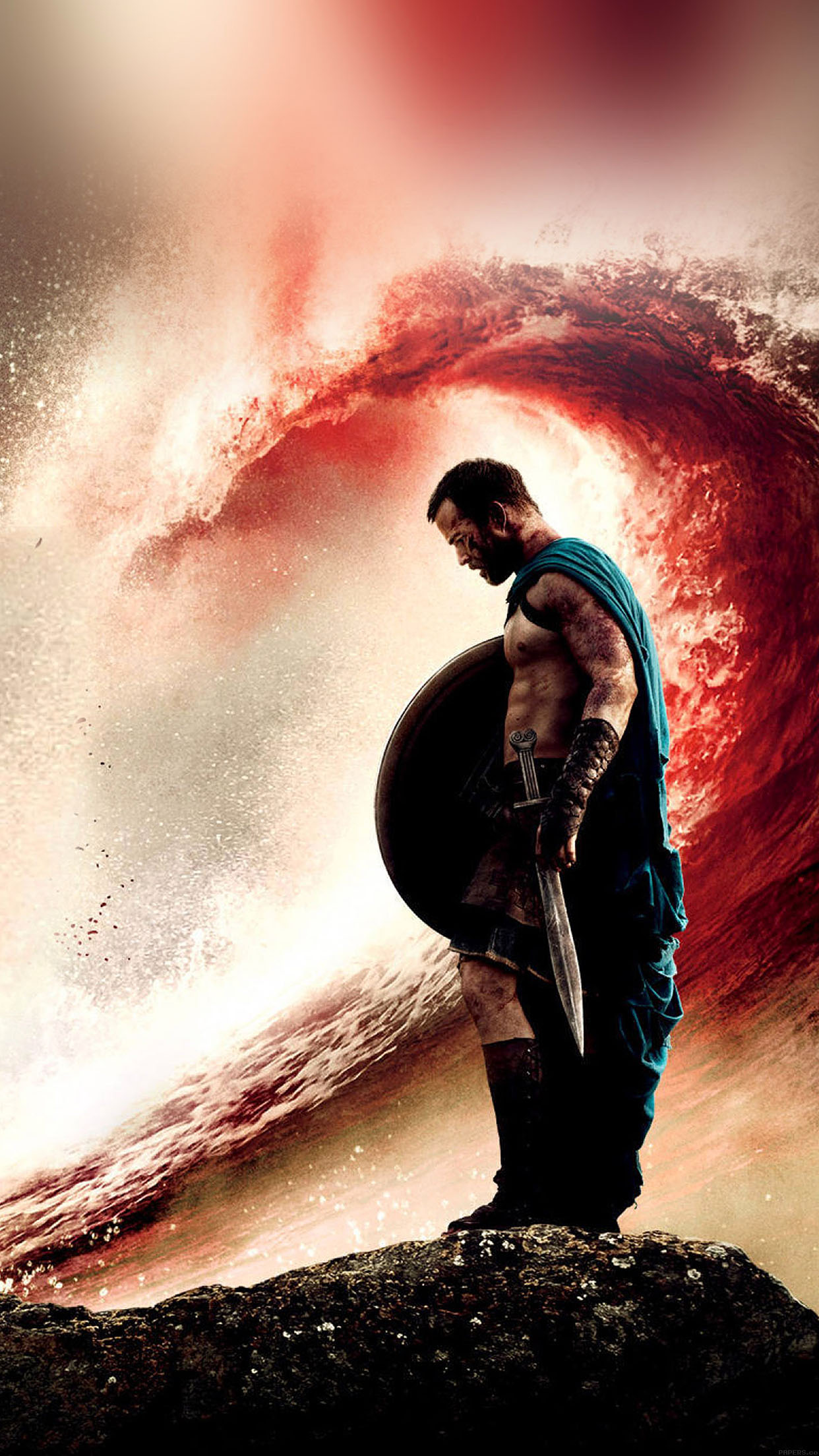 Iphone X Funny Wallpaper Ha84 Wallpaper 300 Rise Of An Empire Wave Film Papers Co
