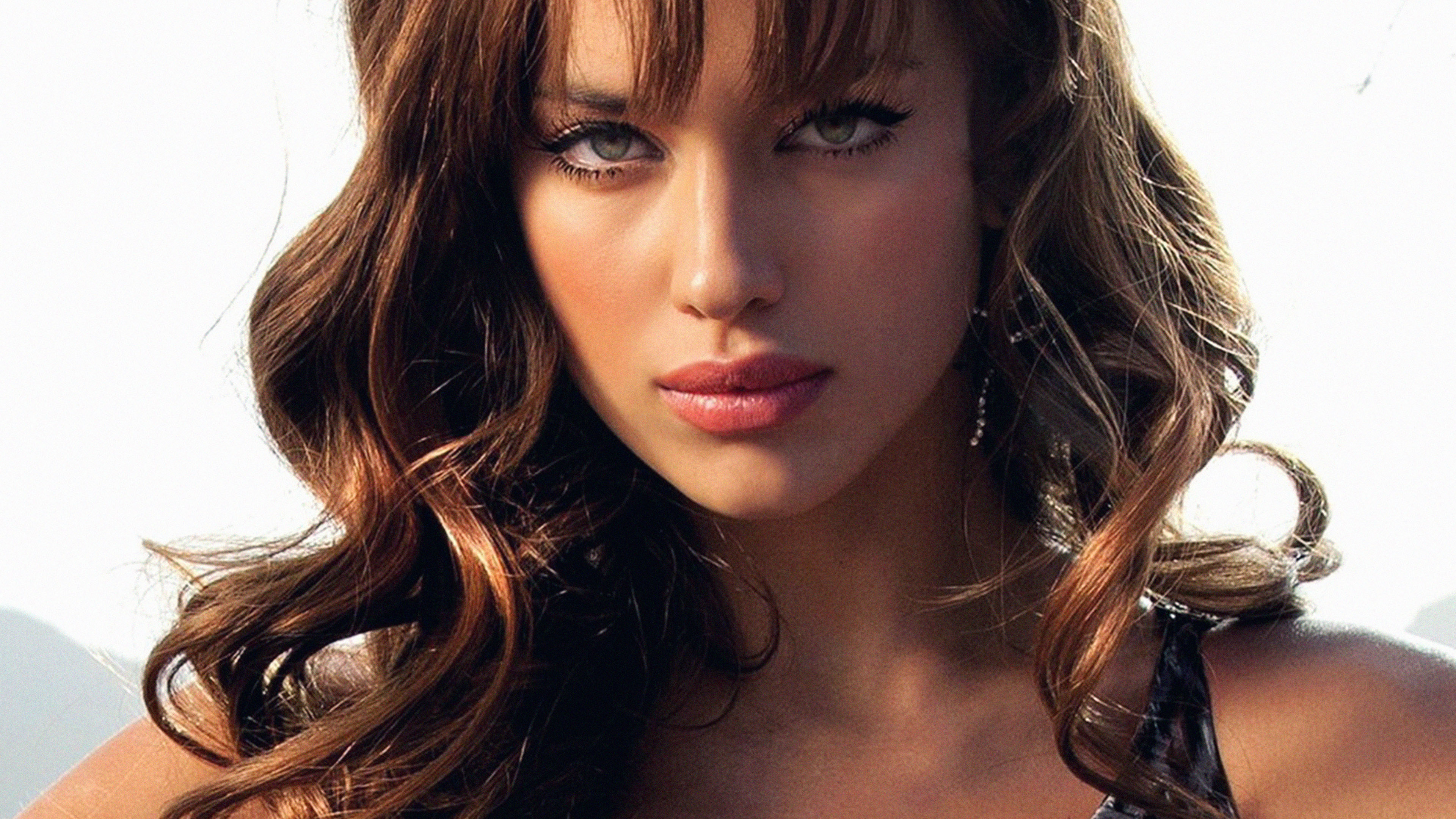 Makeup Iphone Wallpaper Ha86 Wallpaper Irina Shayk Girl Face Sexy Papers Co