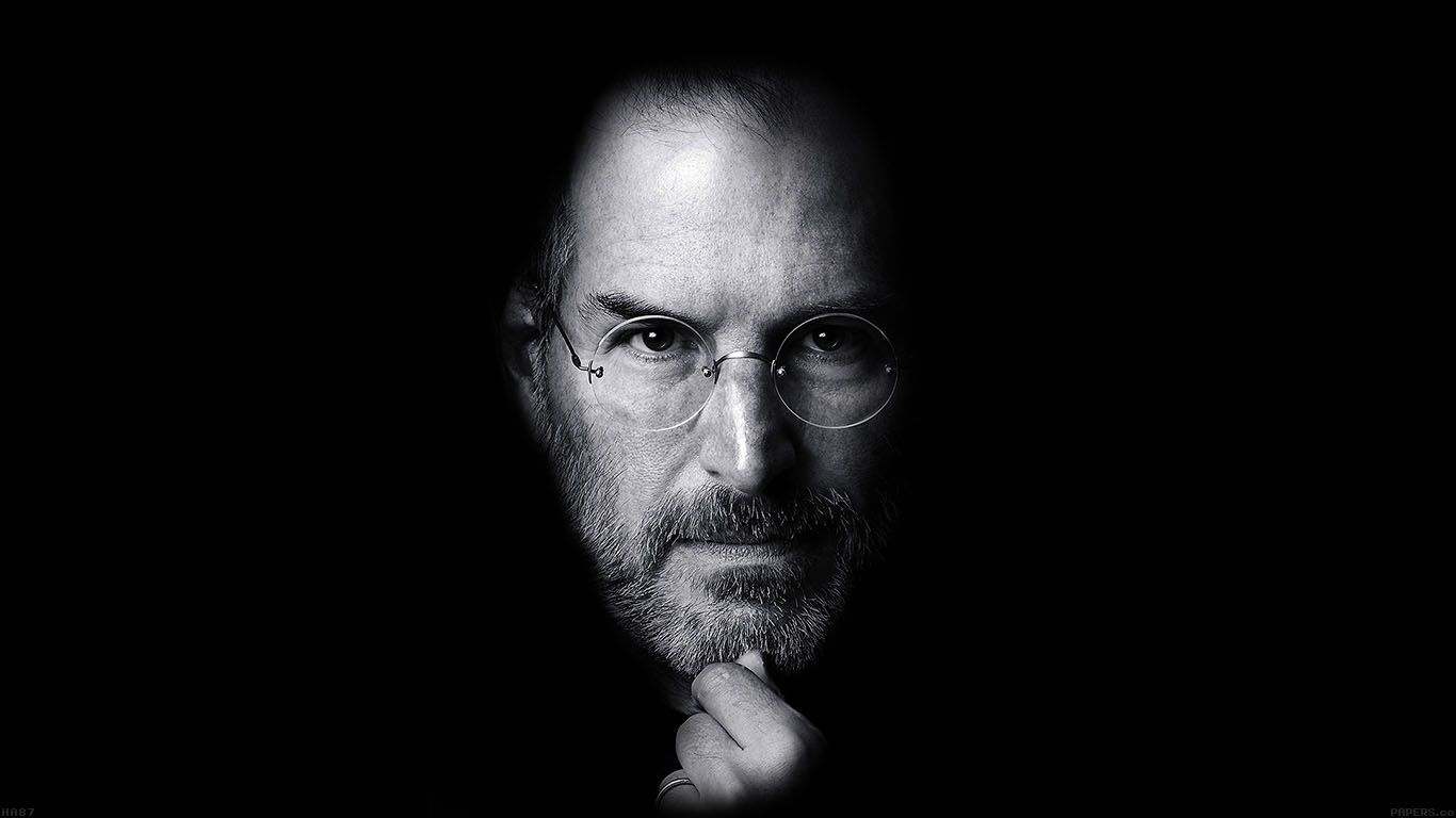 Wave Wallpaper Iphone 7 Ha87 Wallpaper Steve Jobs Face Apple Papers Co