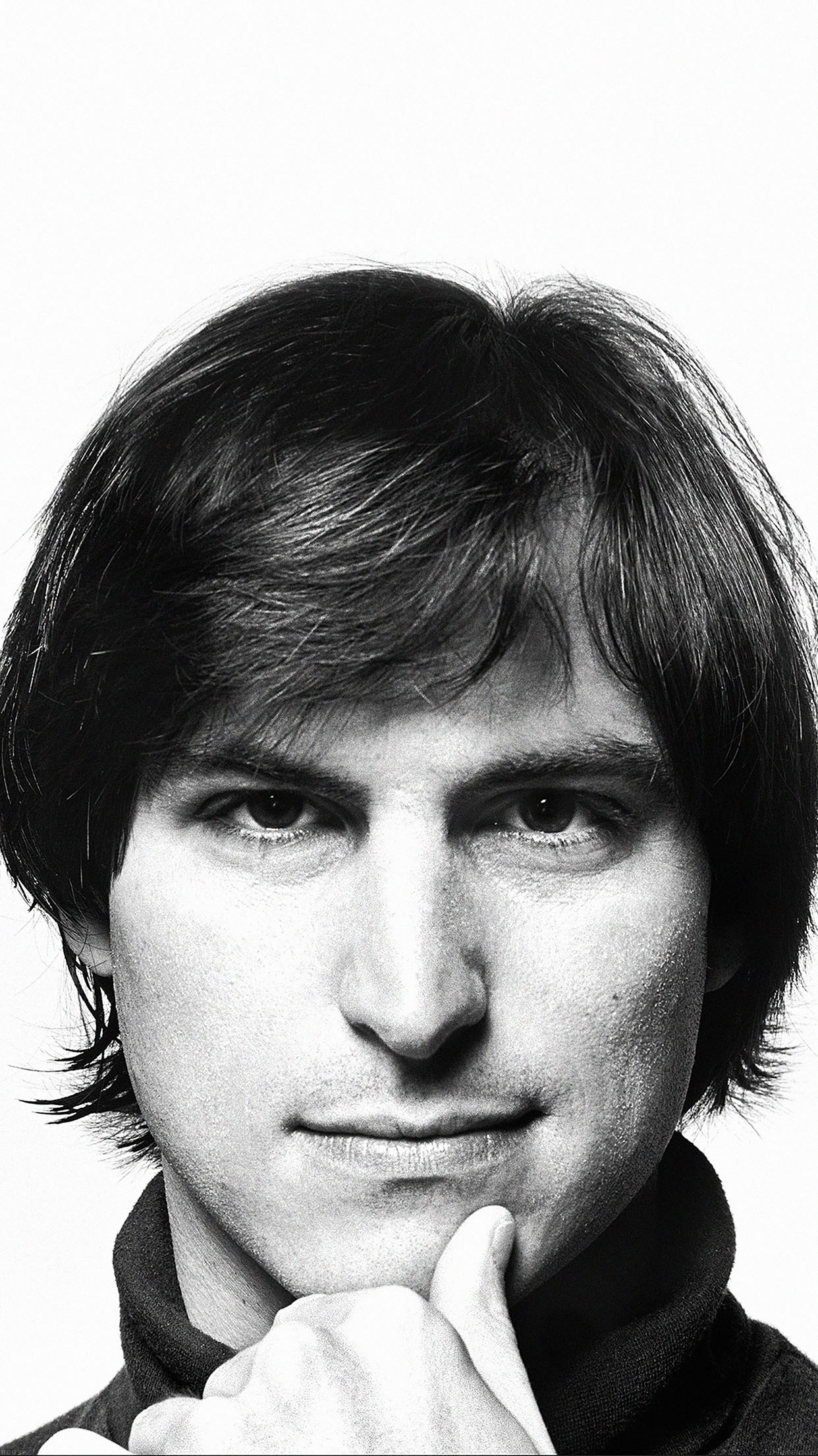 Steve Jobs Iphone Wallpaper Hc03 Young Steve Jobs Face Papers Co