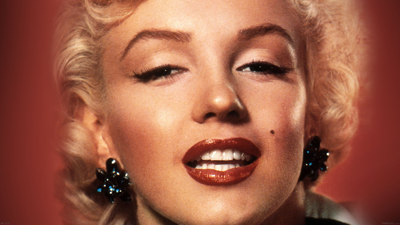 Cute Wallpapers For Girls In The Fall Hc55 Marilyn Monroe Smiling Celebrity Sexy Papers Co