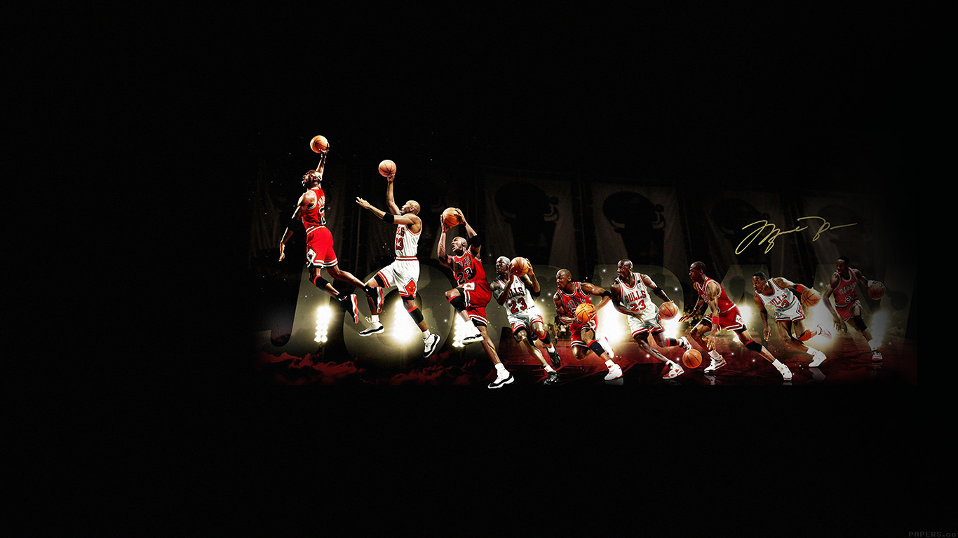 Cartoon Images Fall Wallpaper Hd30 Michael Jordan Dunk Legend Nba Sports Papers Co
