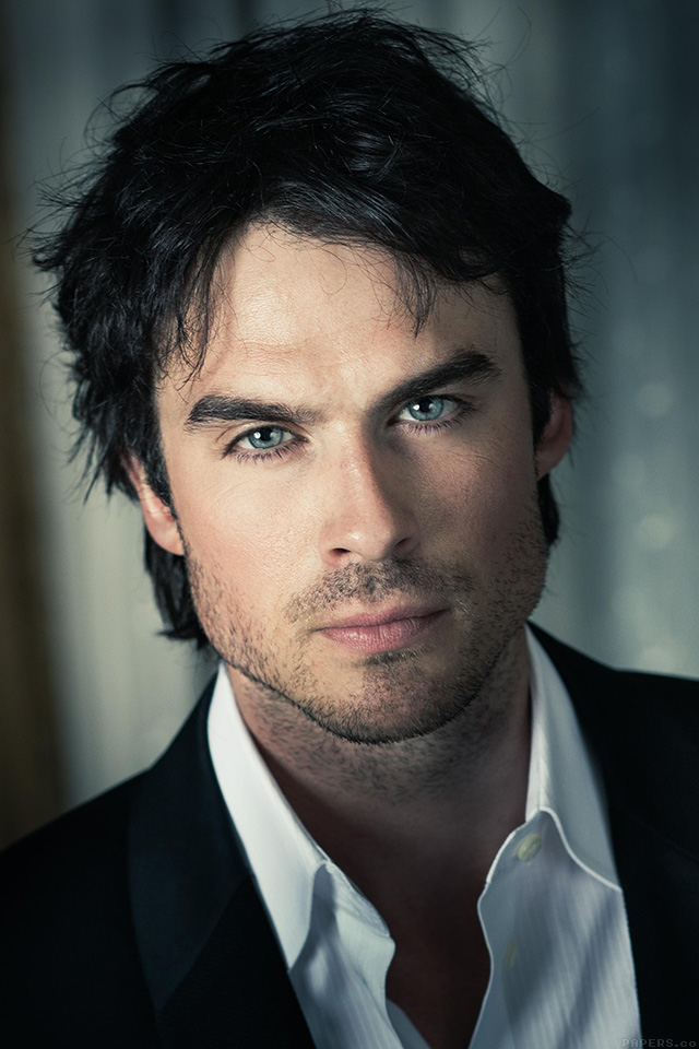 Blue Eyes Cute Wallpaper He05 Ian Somerhalder Actor Model Celebrity Papers Co