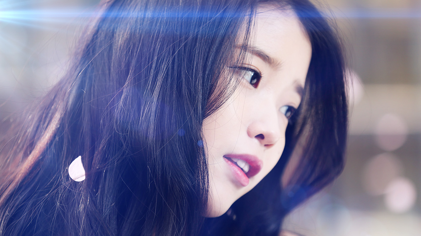 Korean Girl Wallpaper 1920x1080 Wallpaper For Desktop Laptop Hf78 Iu Kpop Beauty Girl
