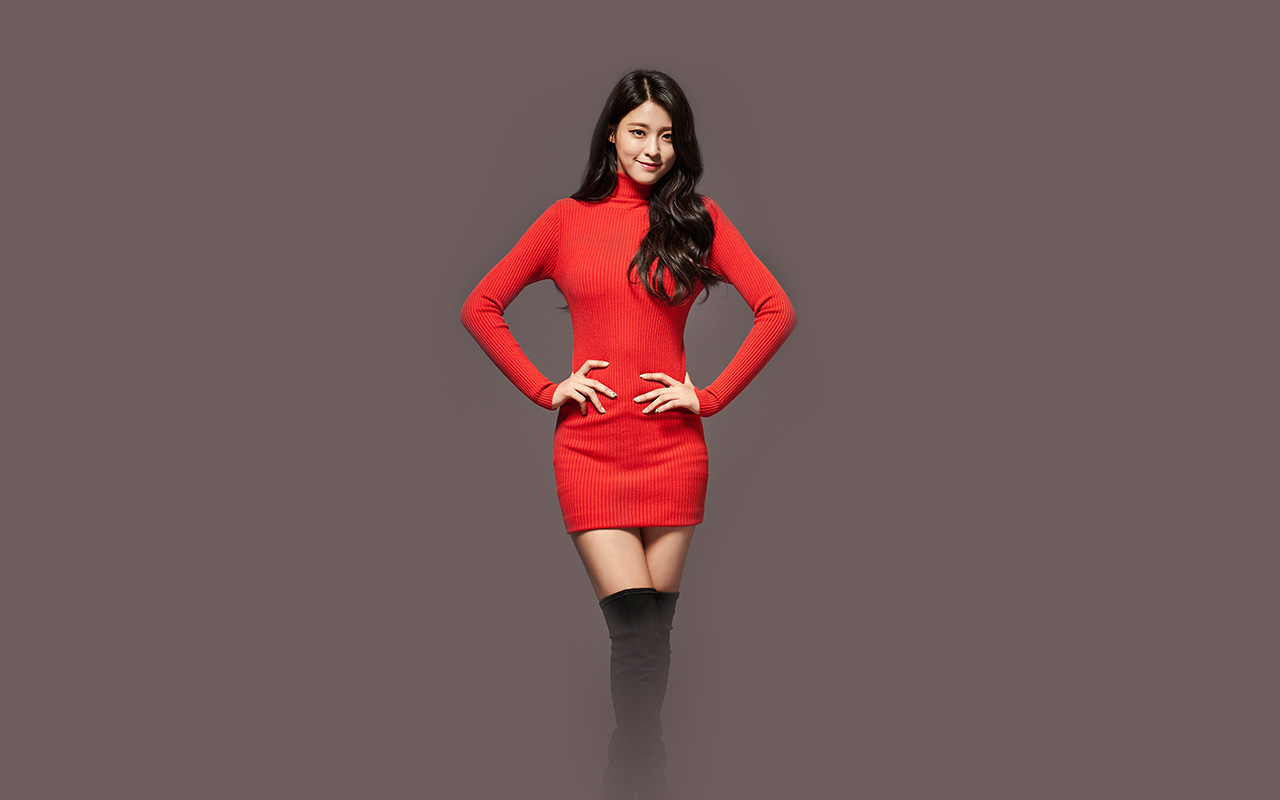 Sinon Cute Wallpaper Hh00 Seolhyun Aoa Red Christmas Cute Music Papers Co