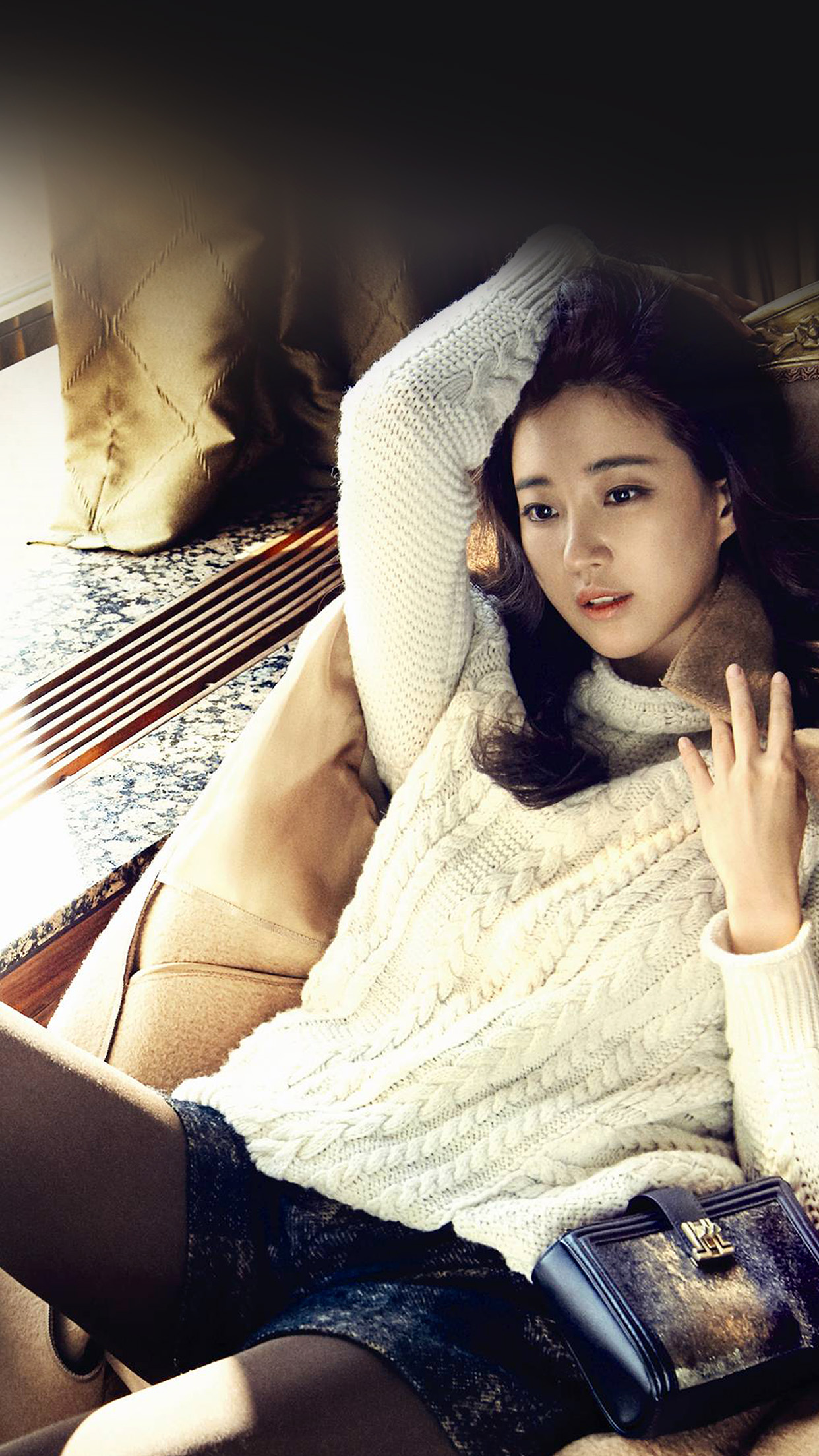 Car And Girl Iphone Wallpaper Hh17 Sarang Kim Kpop Girl Photoshoot Papers Co