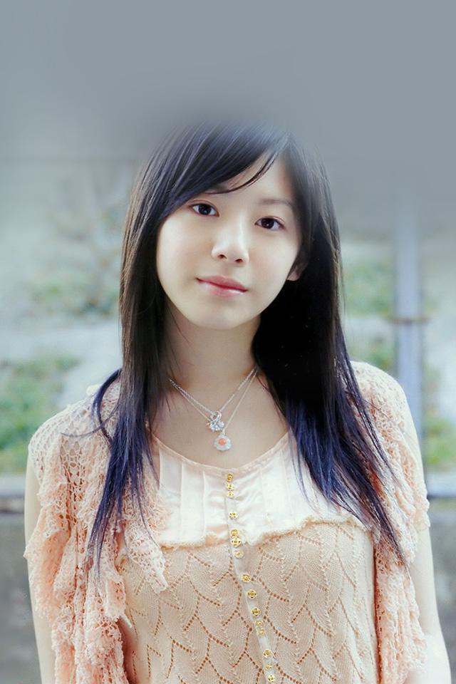 Lg Optimus Wallpaper Hd Hj07 Kaho Japanese Girl Actress Wallpaper