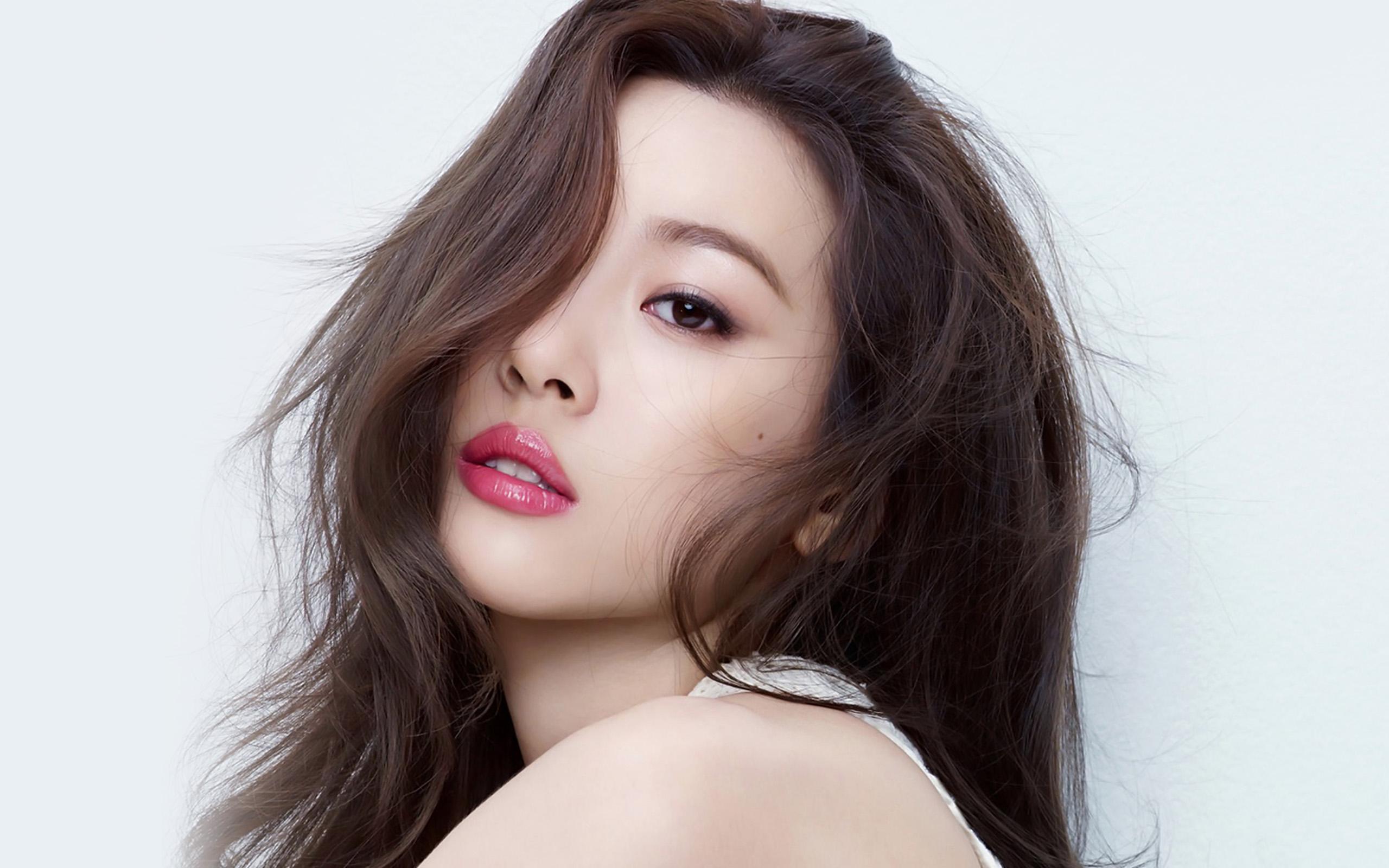 Droid X Girl Wallpaper Hk20 Kpop Jyp Girl White Asian Sunmi Wallpaper