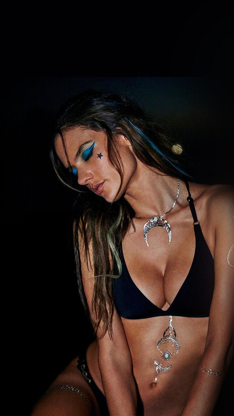 Goggles Girl Hd Wallpapers Hk71 Alessandra Ambrosio Dark Girl Victoria Model Wallpaper