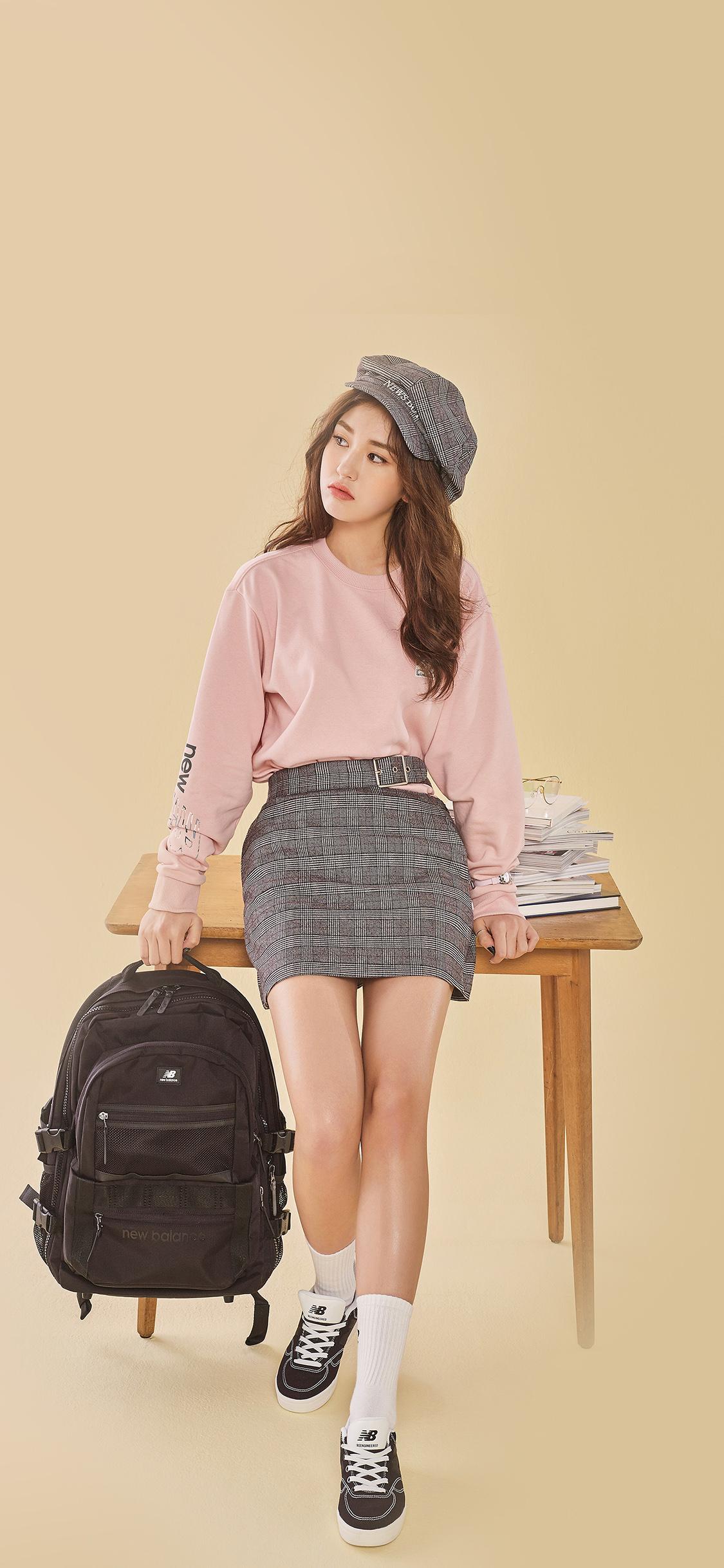 Simple Girl Wallpaper Com Hm04 Somi Ioi Girl Cute Wallpaper