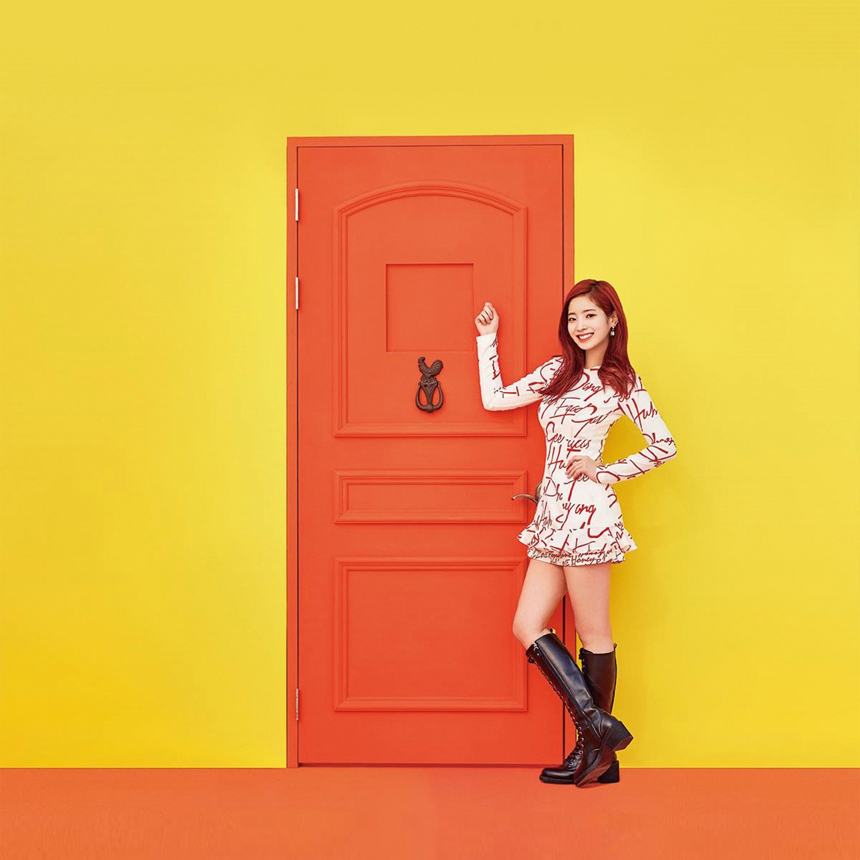 Cute Fall Wallpaper Iphone 5 Papers Co Android Wallpaper Hm35 Yellow Girl Kpop