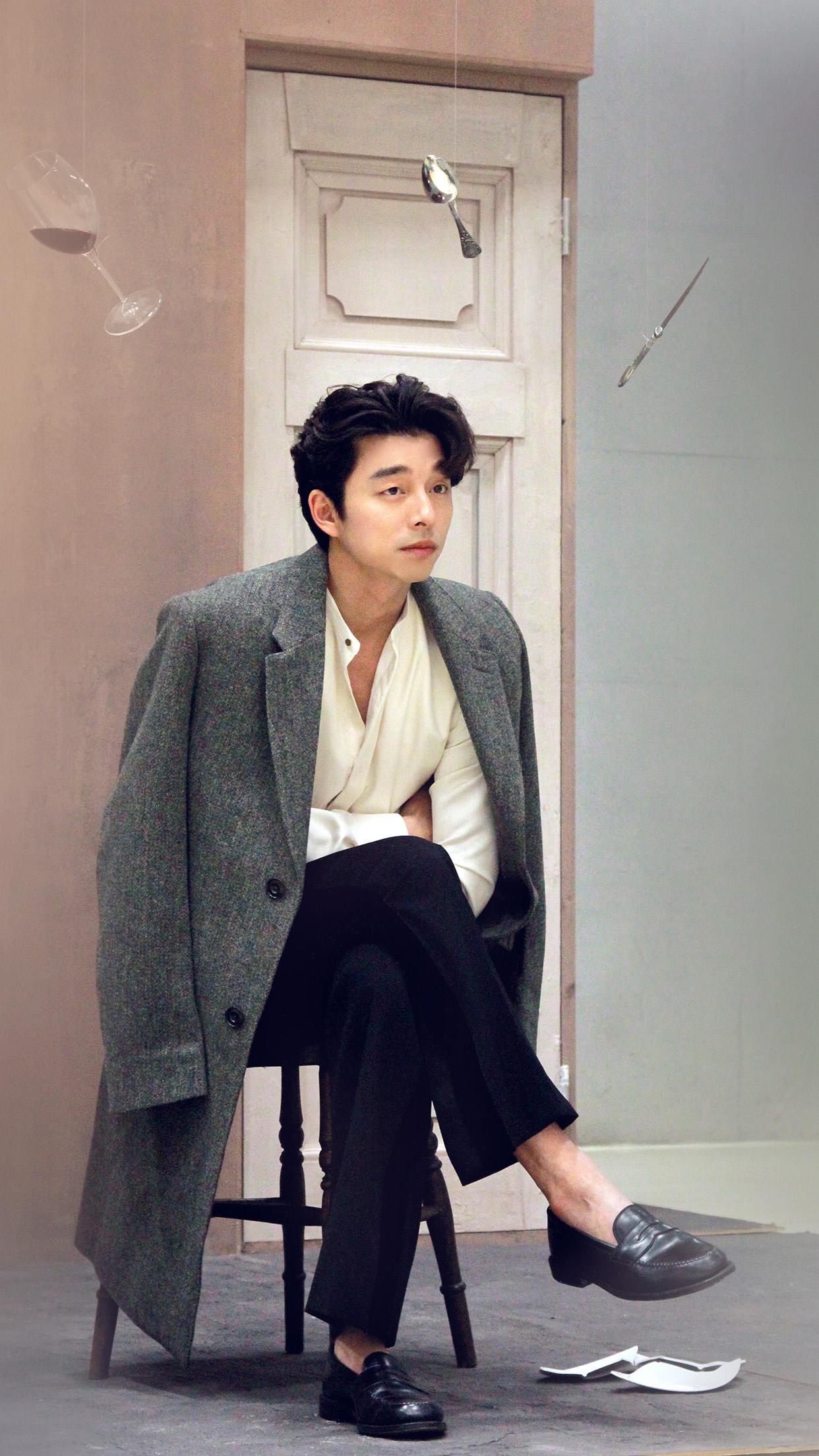 Car Boy Hd Wallpaper Hm46 Gongyoo Model Boy Celebrity Kpop Wallpaper