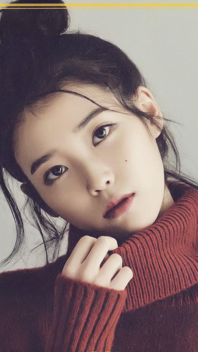 Cute Sweet Girl Wallpaper Hn83 Iu Kpop Girl Singer Artist Cute Wallpaper