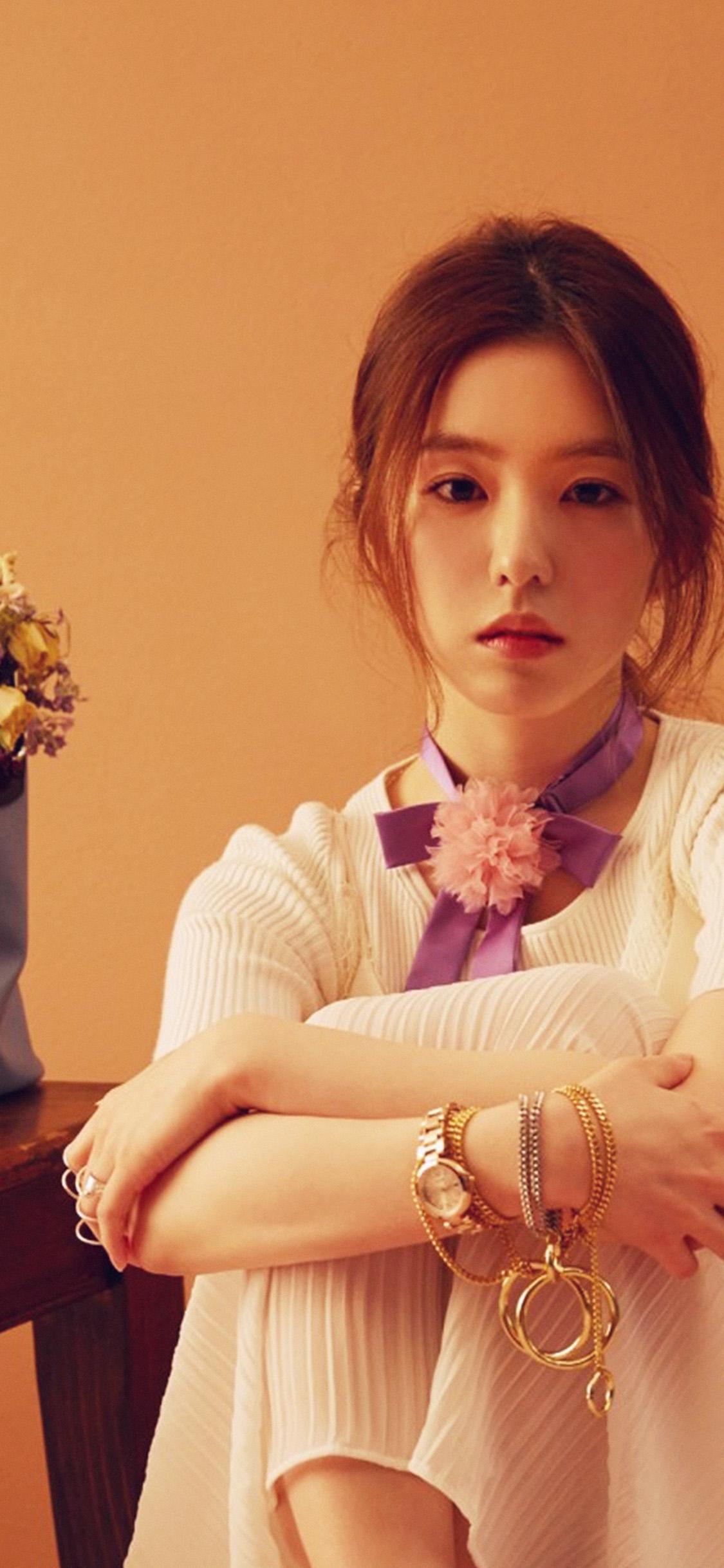 Japanese Girl Wallpaper For Iphone Ho54 Asian Girl Music Red Kpop Wallpaper