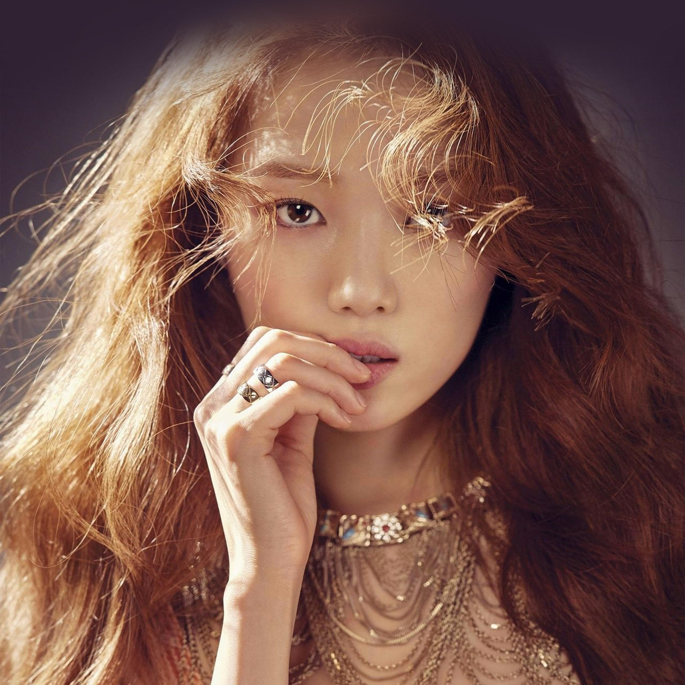I Am A Simple Girl Wallpaper Ho68 Kpop Girl Model Asian Beauty Wallpaper