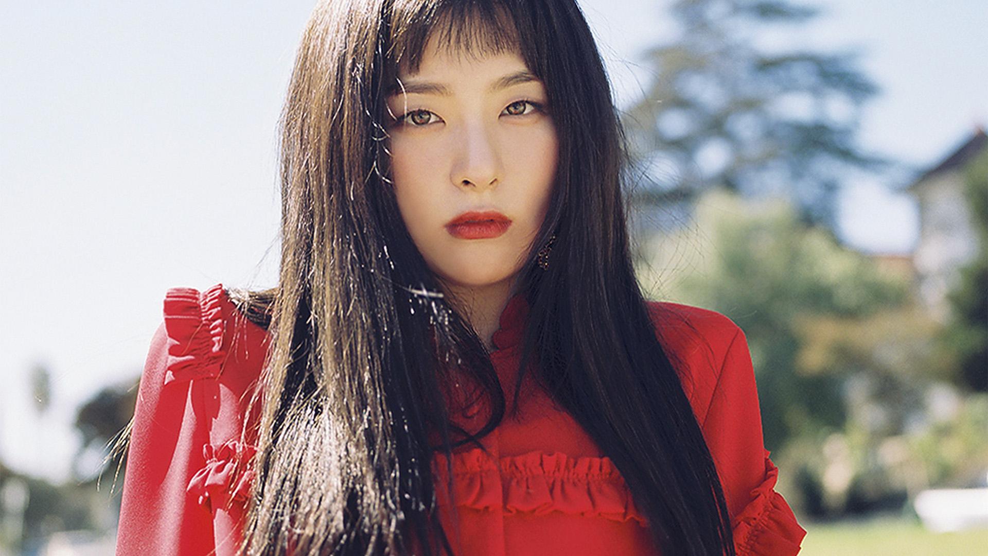 Droid X Girl Wallpaper Ho85 Kpop Girl Red Dress Wallpaper