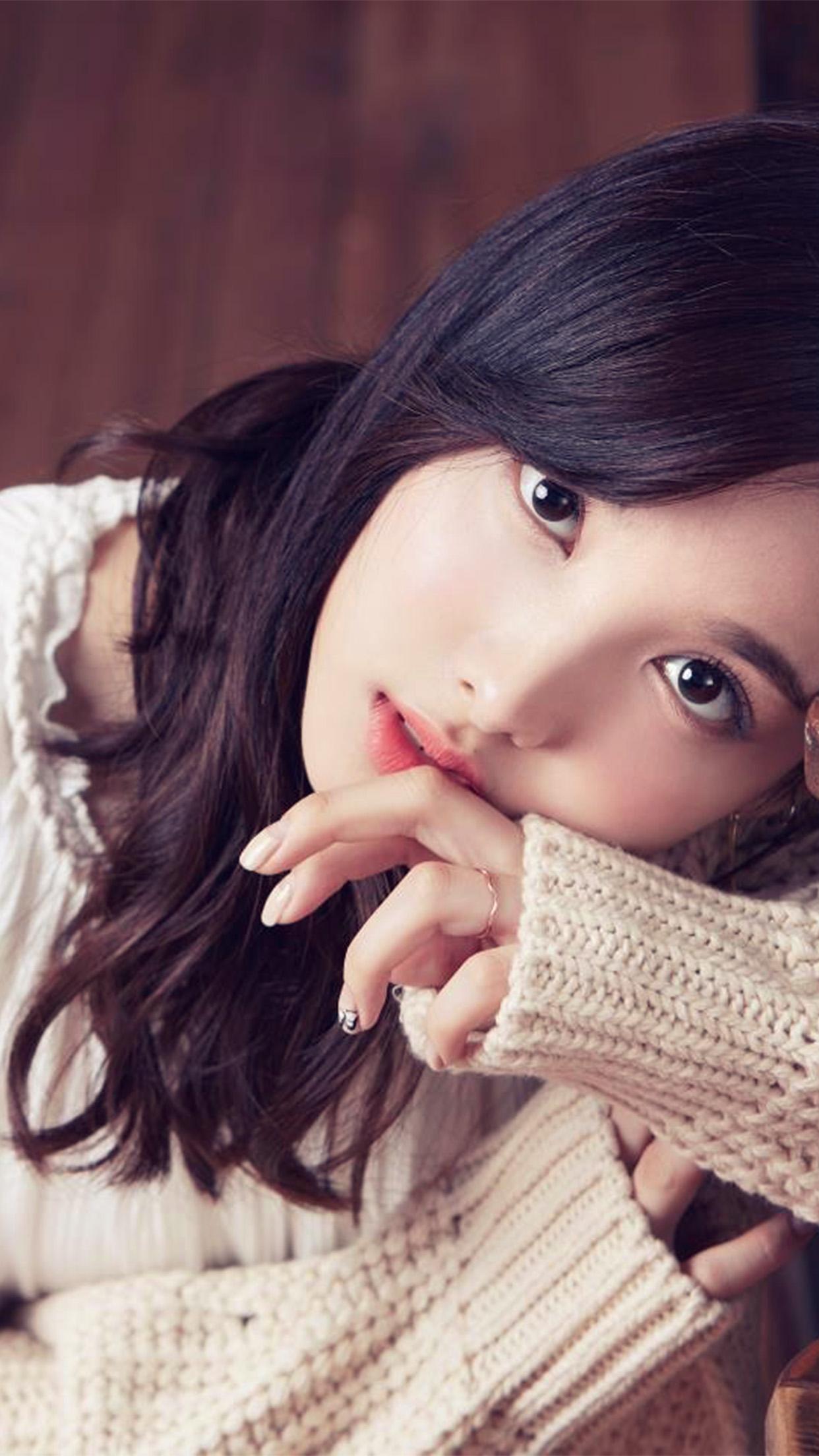 Girl Wallpaper For Iphone 6 Plus Hp22 Kpop Asian Girl Wallpaper