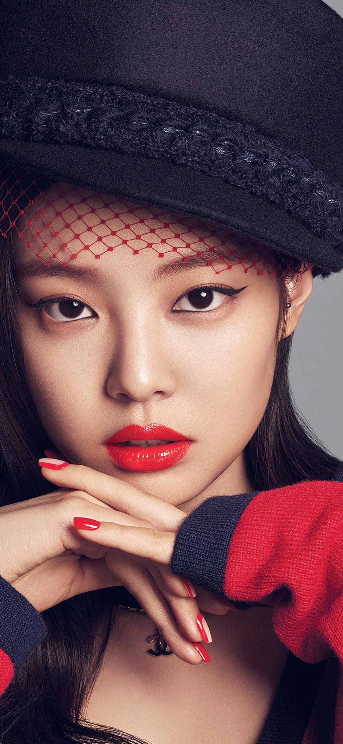 Simple Wallpaper Girl Hd Hp37 Blackpink Girl Kpop Jennie Wallpaper