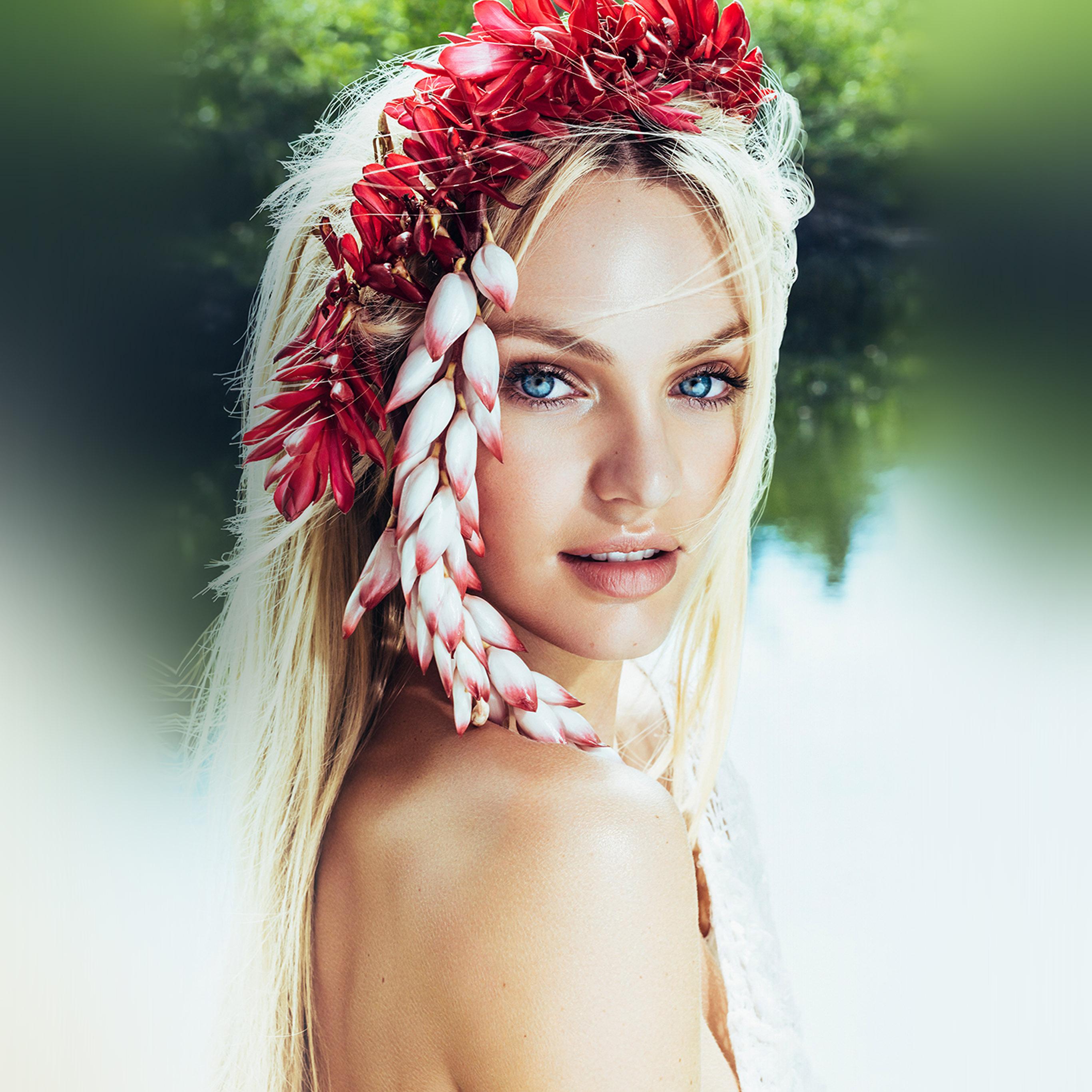 Imac Girl Wallpaper Hq10 Candice Swanepoel Model Girl Victoria Wallpaper