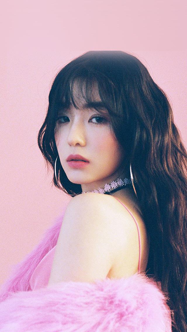 Hq23 Irene Girl Redvelvet Kpop Pink Wallpaper