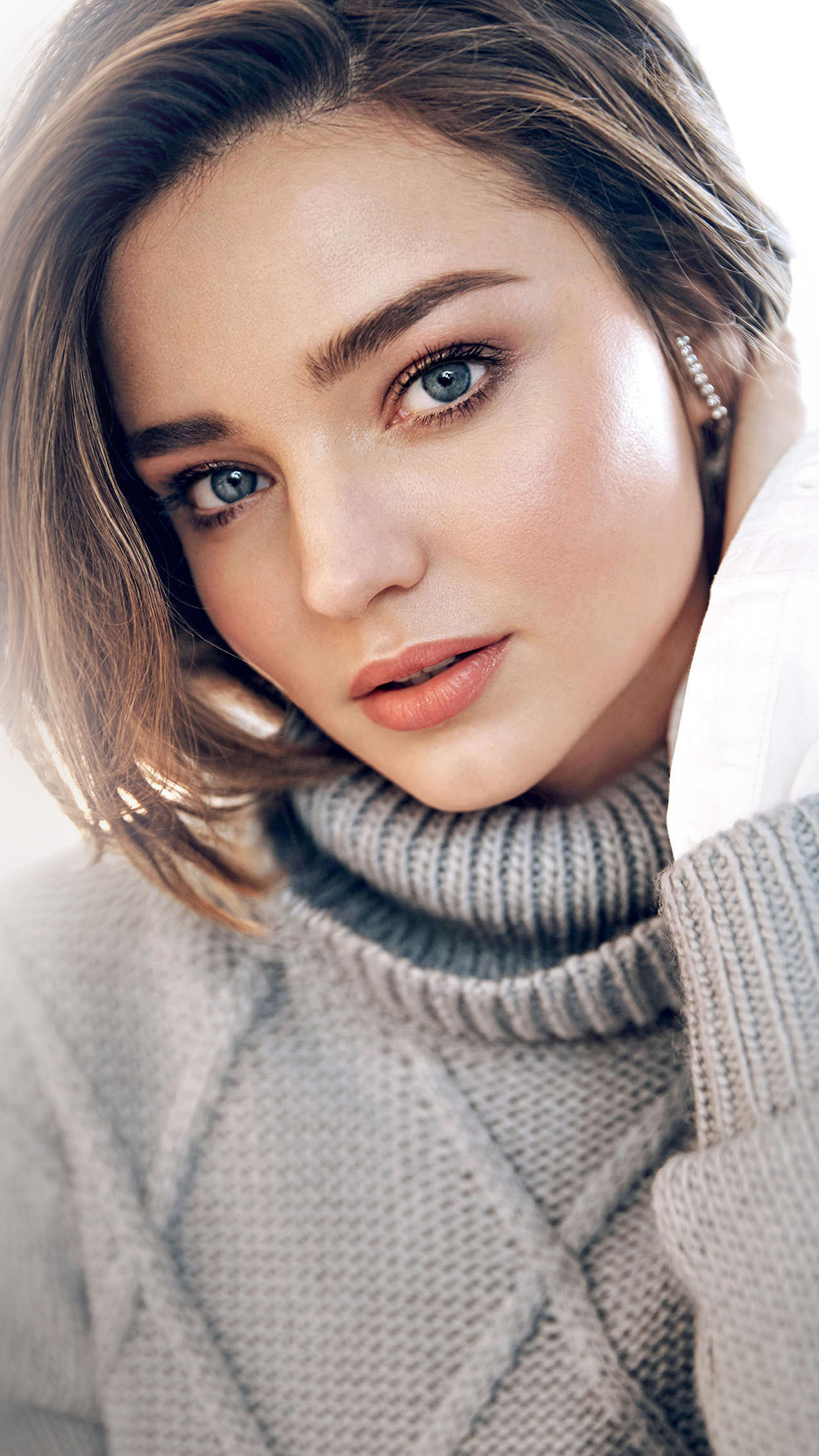 Cute Face Girl Wallpaper Hd Hq89 Miranda Kerr Girl Model Face Wallpaper